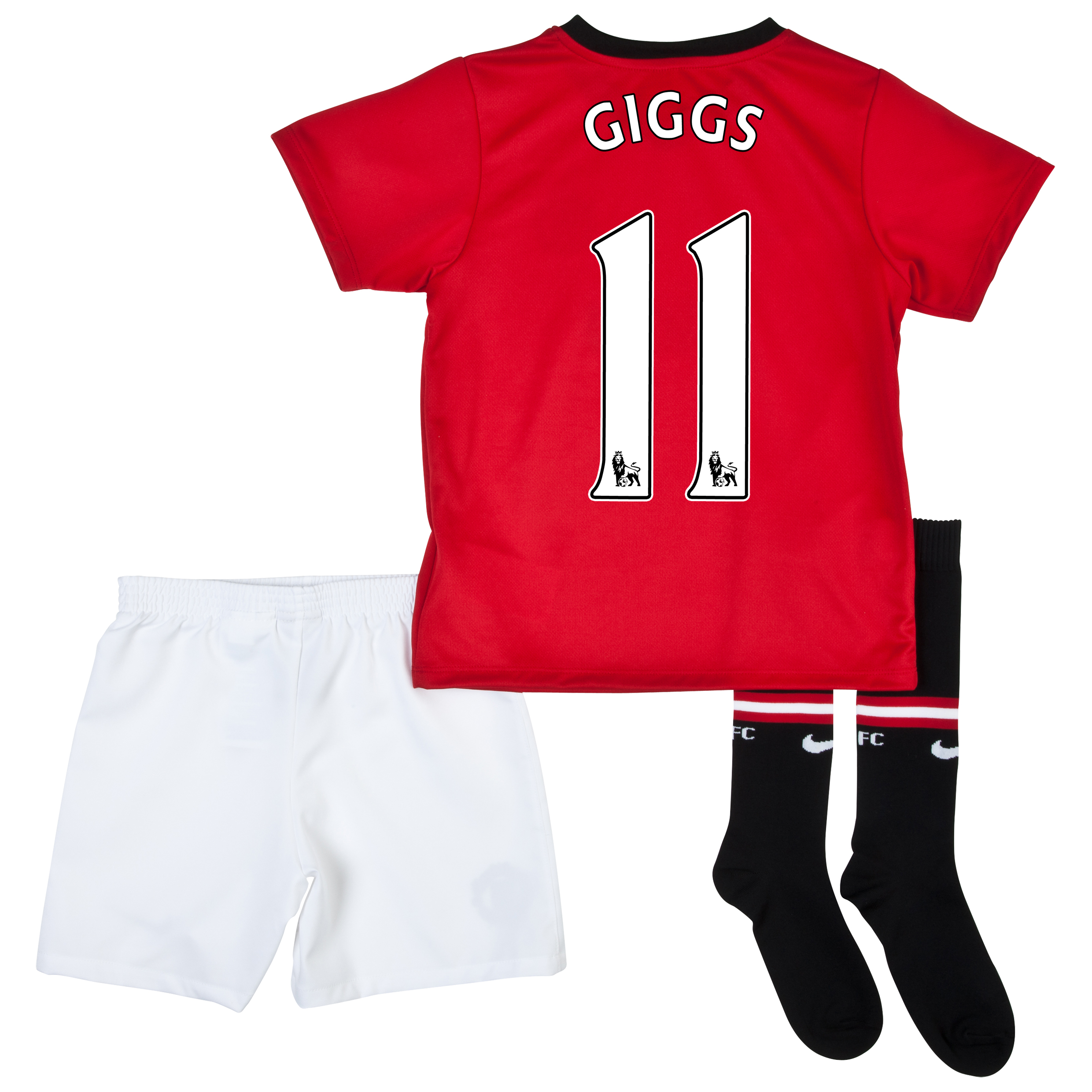 Manchester United Home Kit 2013/14 - Little Boys with Giggs 11 printing