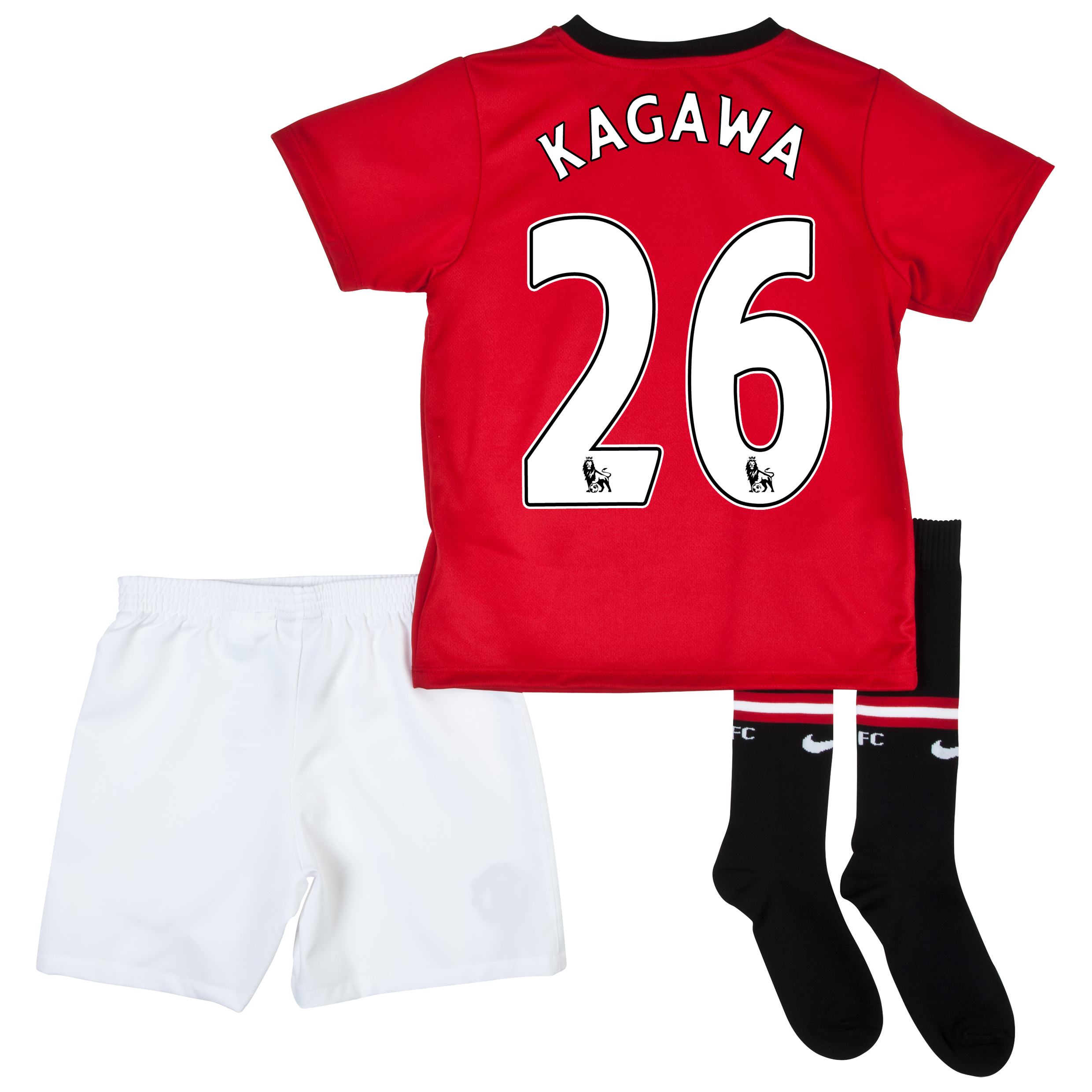 Manchester United Home Kit 2013/14 - Little Boys with Kagawa 26 printing