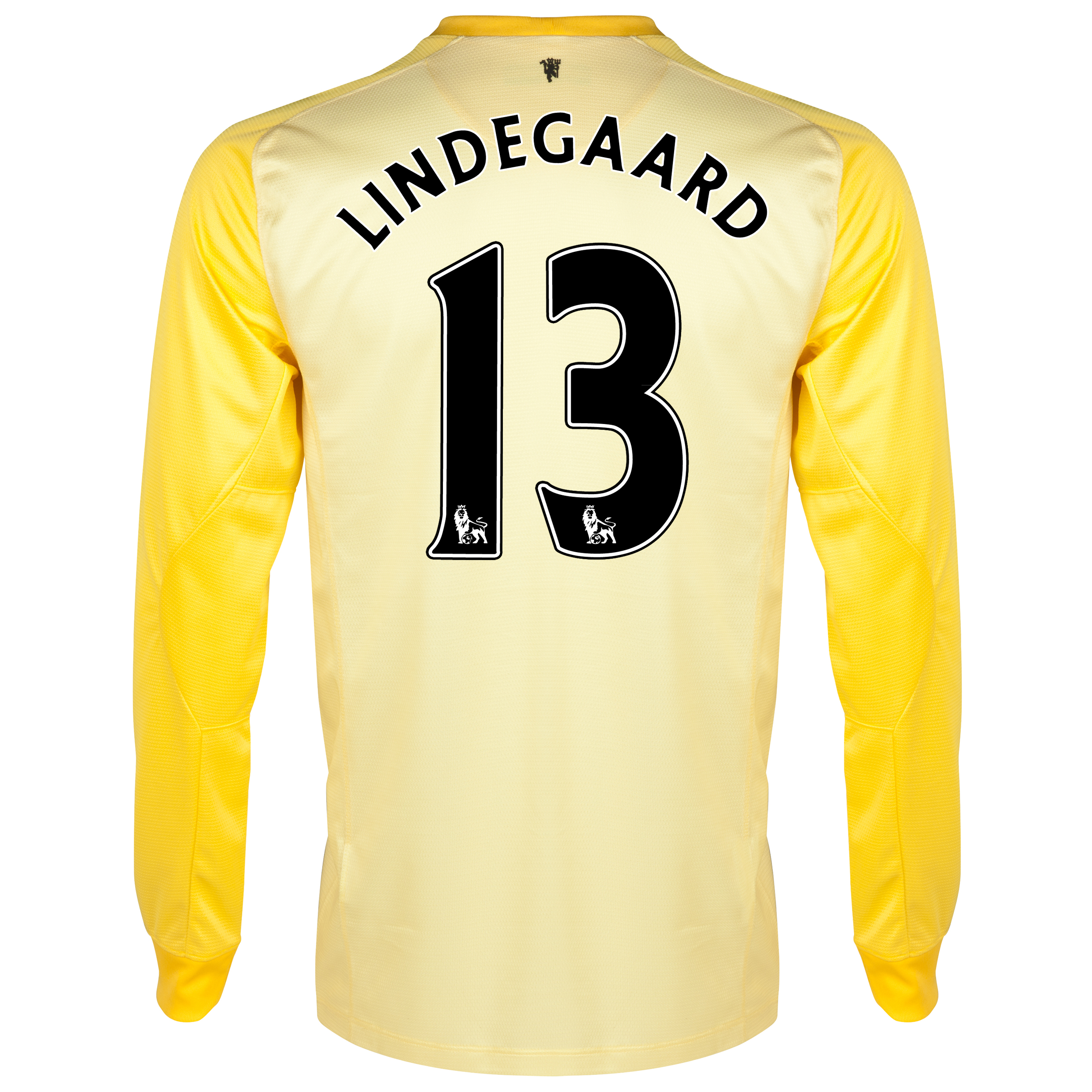 Manchester United Home Goalkeeper Shirt 2013/14 with Lindegaard 13 printing