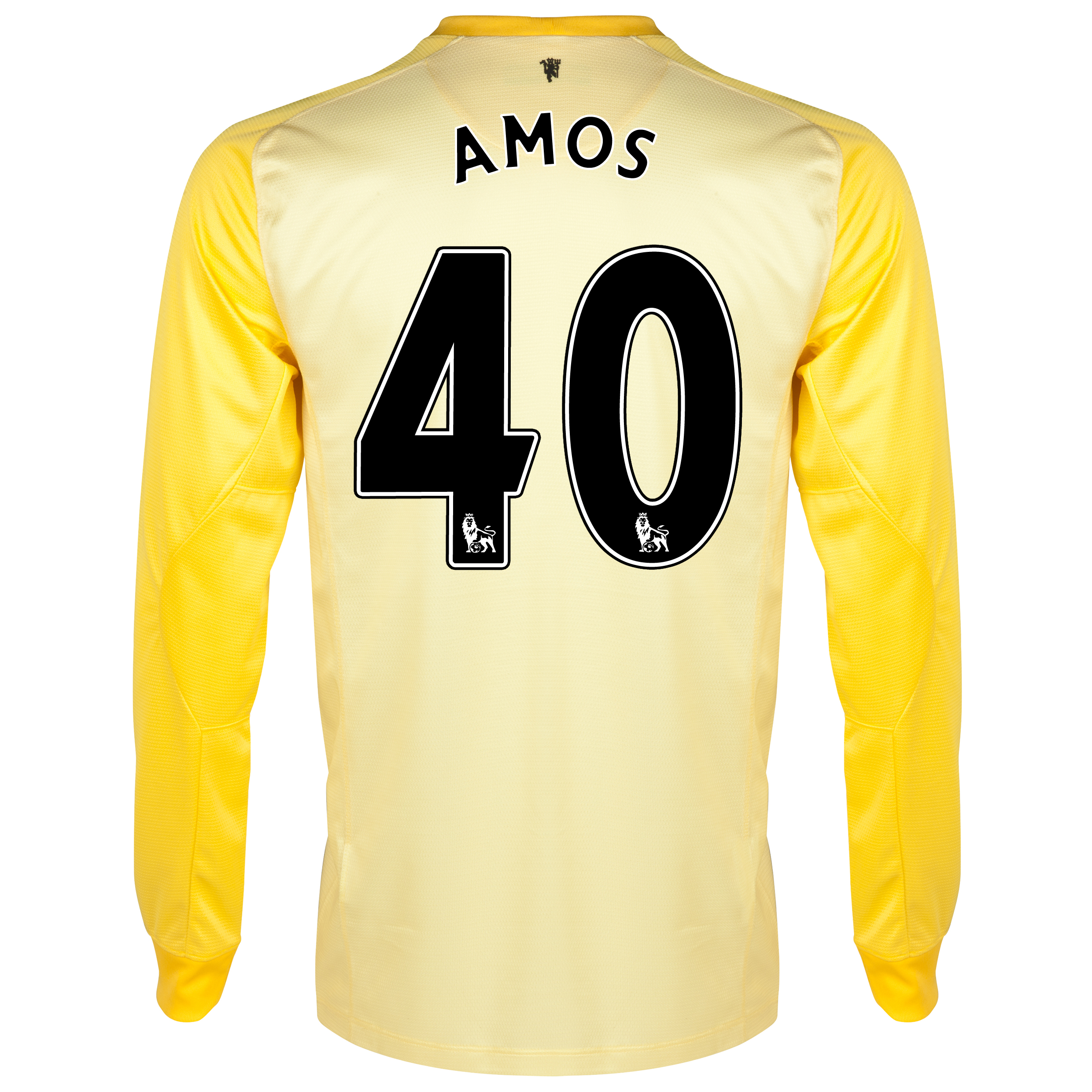 Manchester United Home Goalkeeper Shirt 2013/14 with Amos 40 printing
