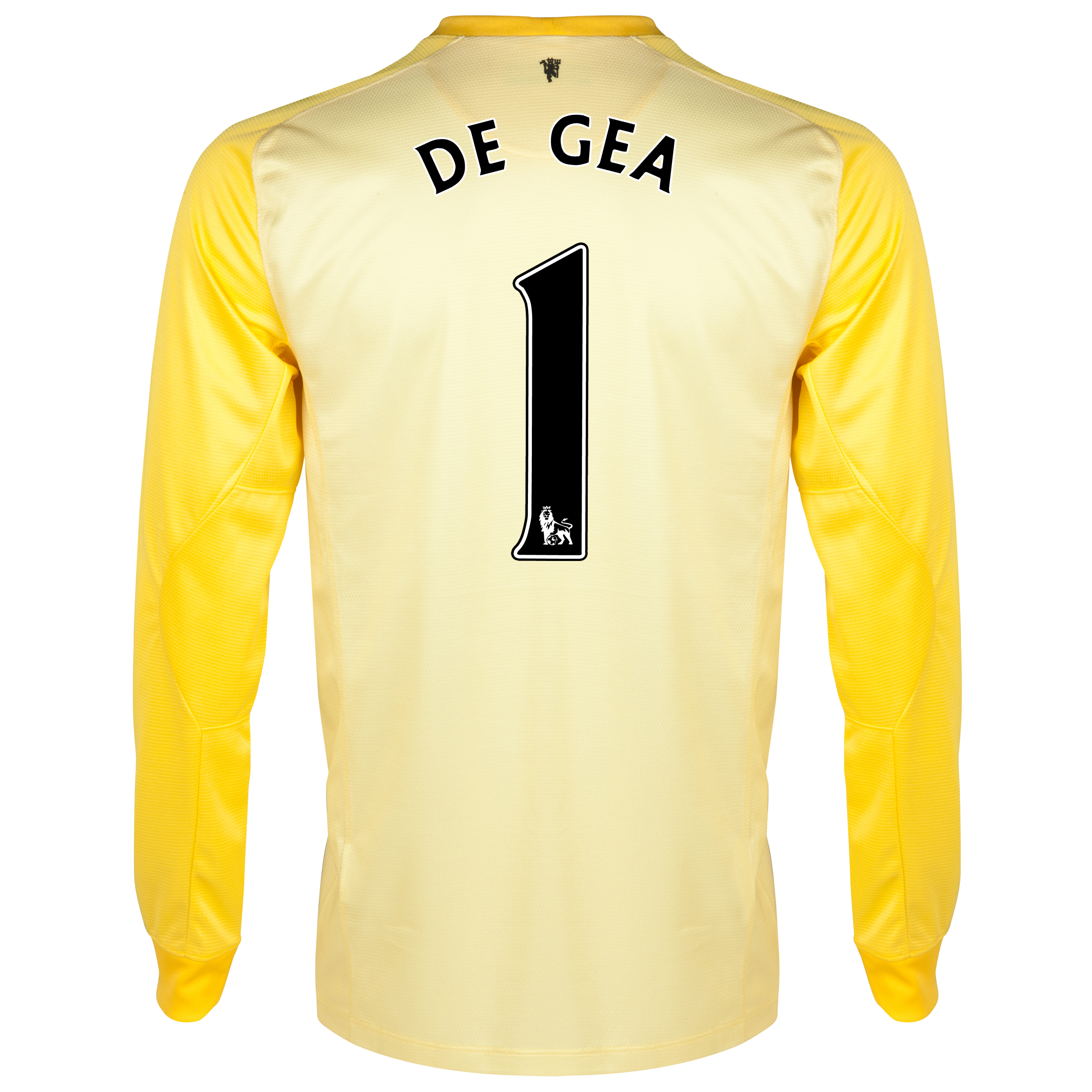 Manchester United Home Goalkeeper Shirt 2013/14 - Kids with De Gea 1 printing