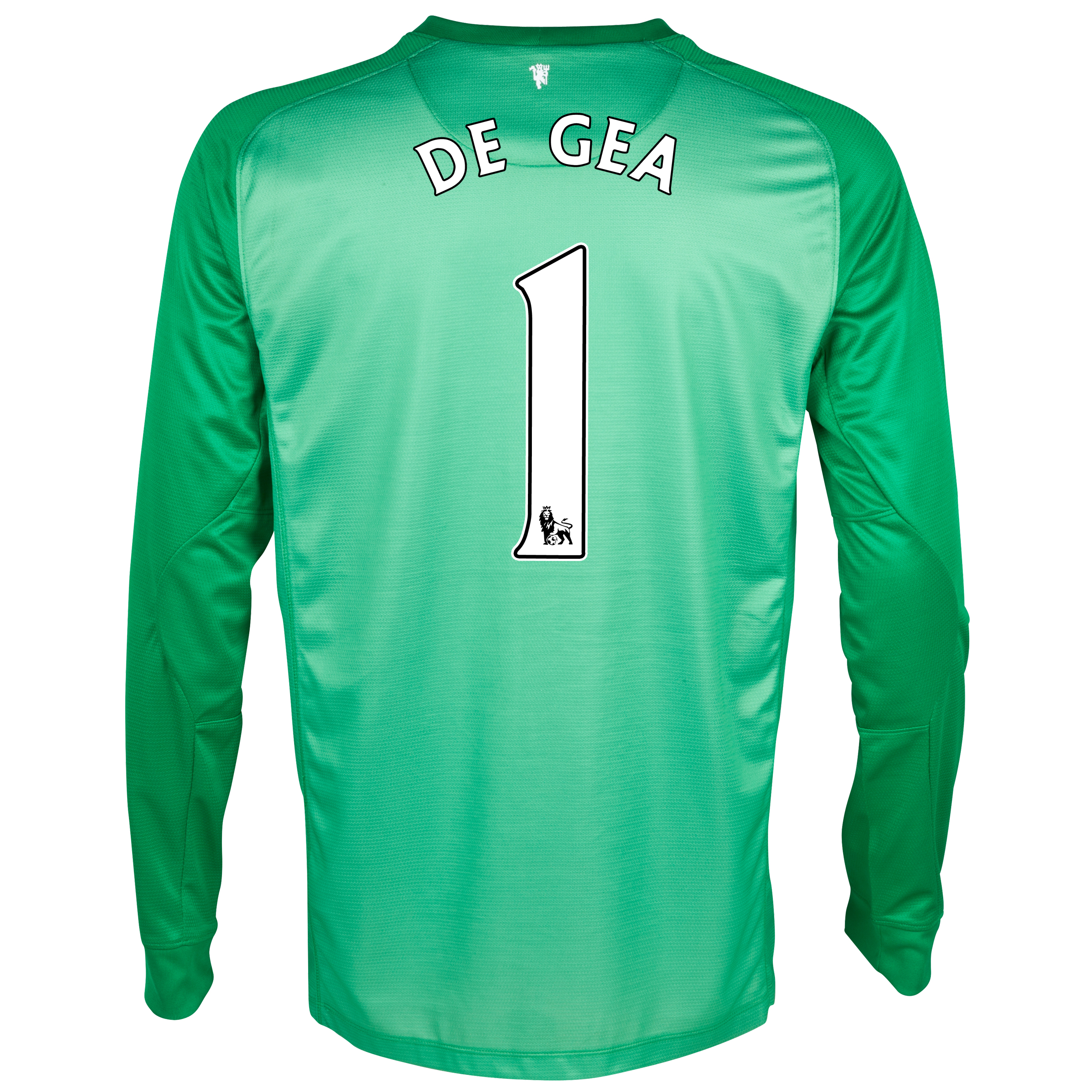 Manchester United Goalkeeper Shirt 2013/14 - Kids with De Gea 1 printing