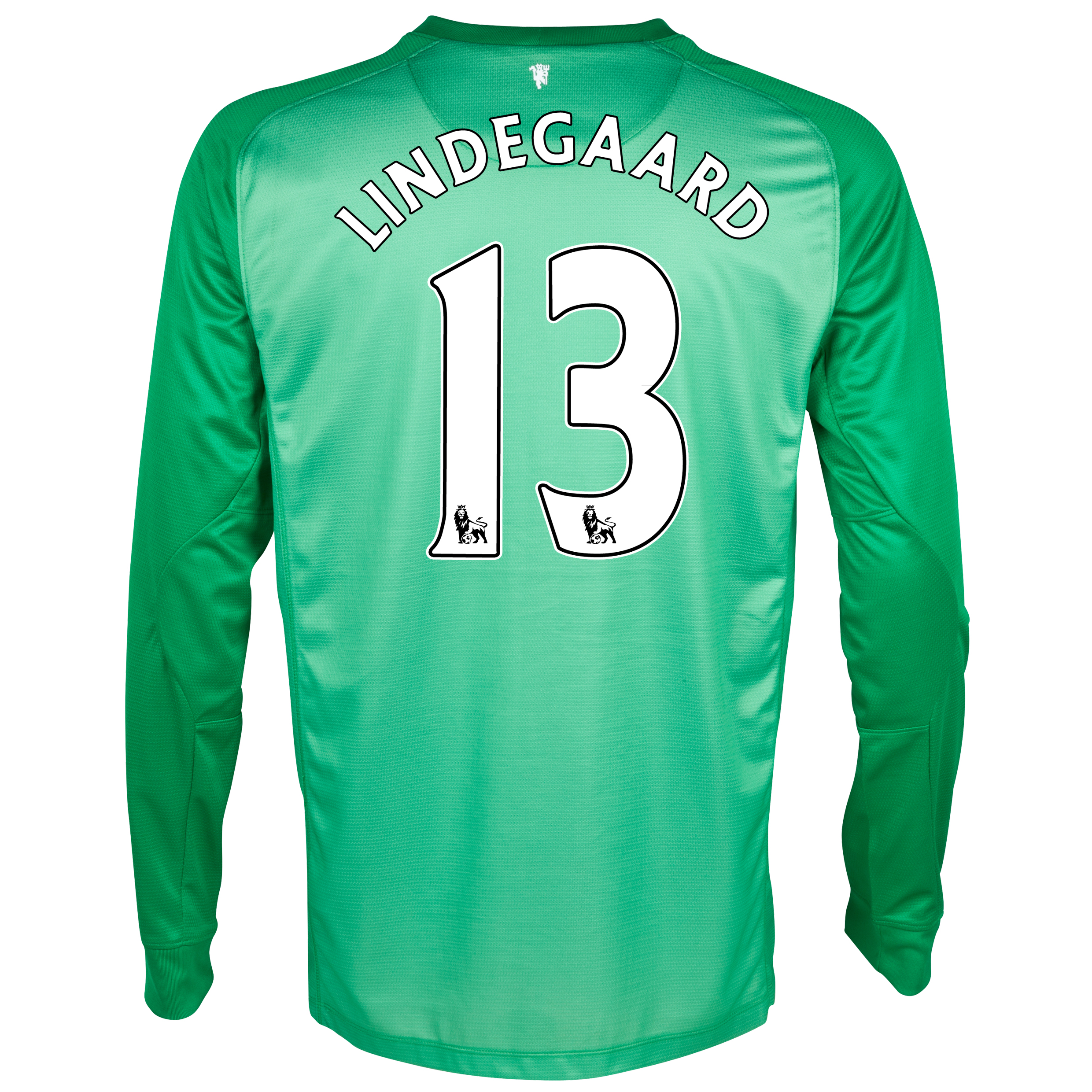 Manchester United Goalkeeper Shirt 2013/14 - Kids with Lindegaard 13 printing