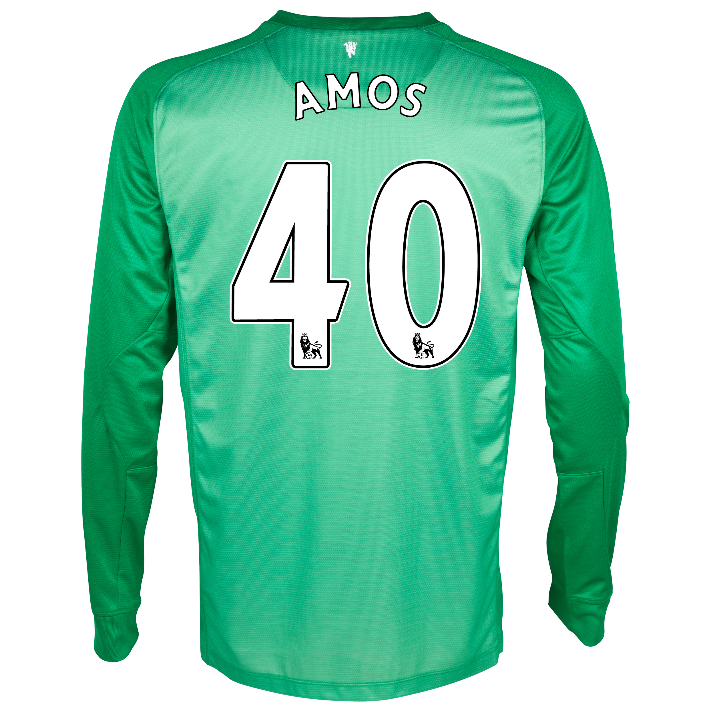 Manchester United Goalkeeper Shirt 2013/14 - Kids with Amos 40 printing