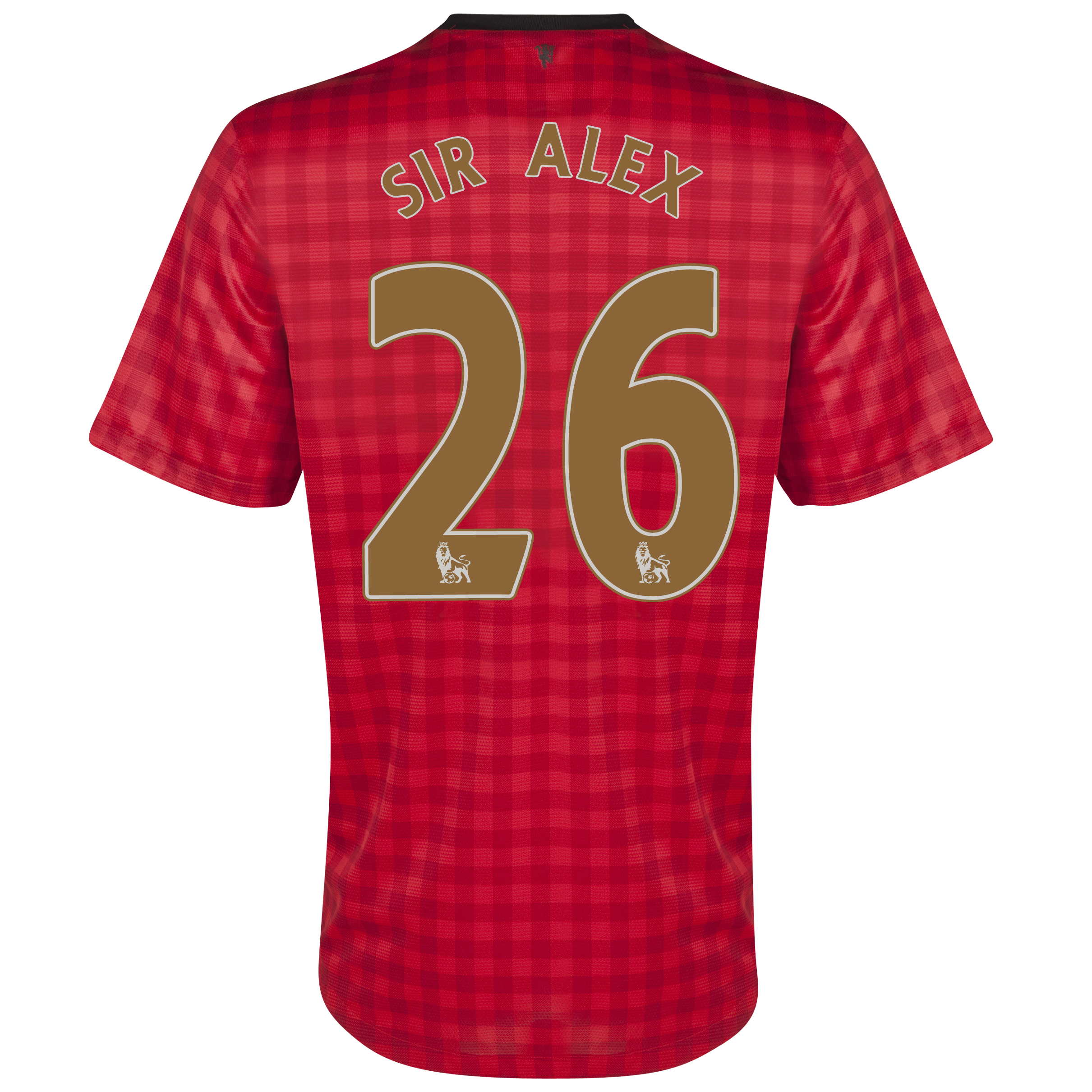 Manchester United Home Shirt 2012/13 with Sir Alex 26 printing