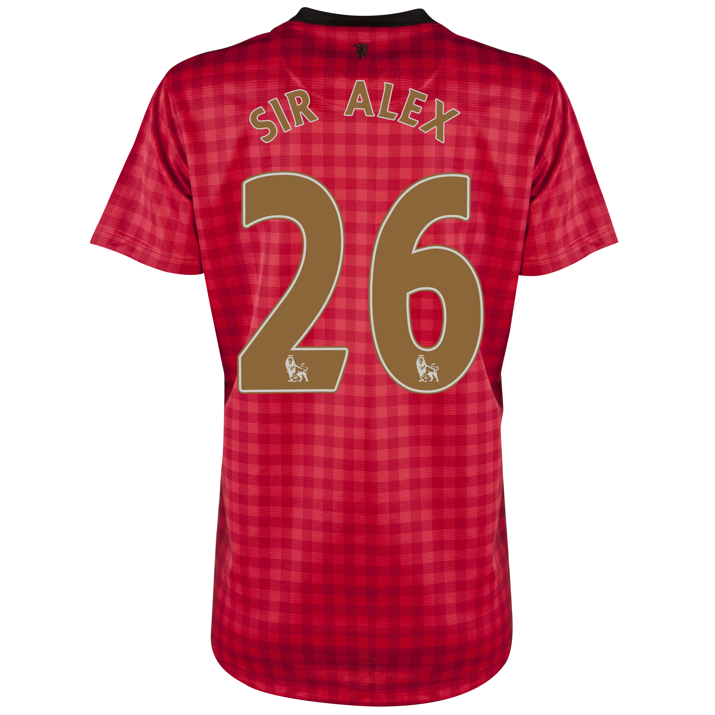 Manchester United Home Shirt 2012/13 - Womens with Sir Alex 26 printing