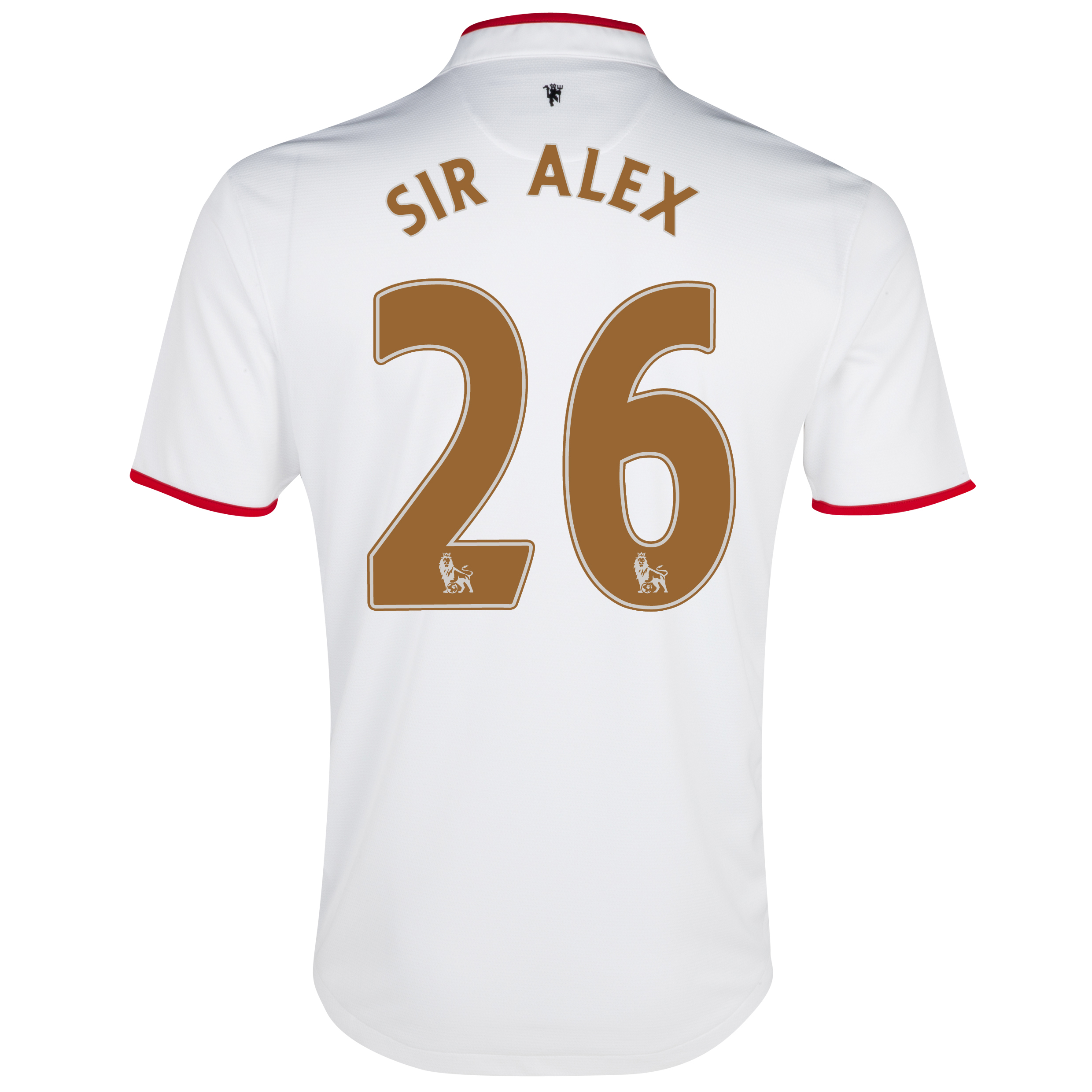 Manchester United Away Shirt 2012/13 - Kids with Sir Alex 26 printing
