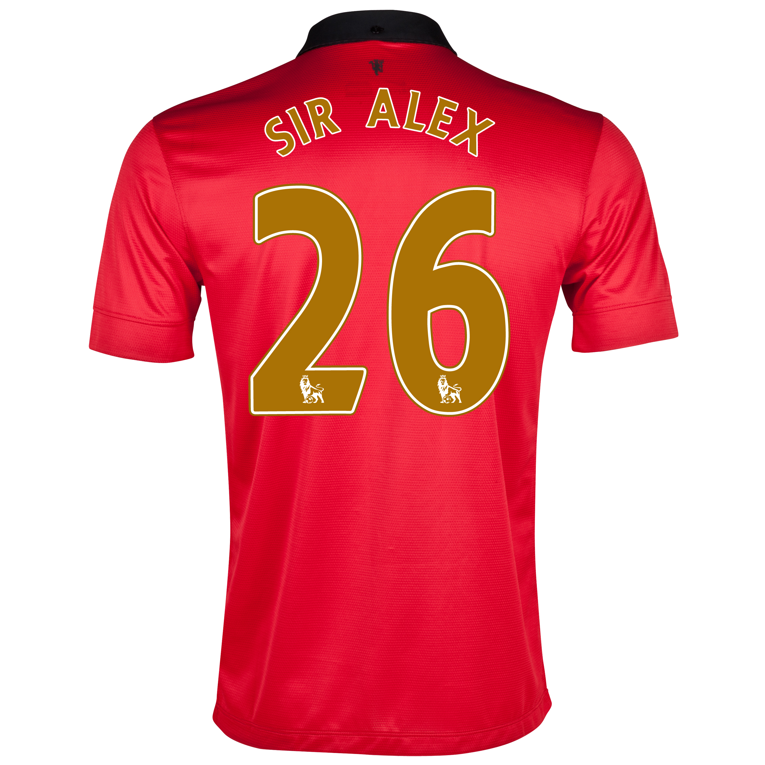 Manchester United Home Shirt 2013/14 - Kids with Sir Alex 26 printing