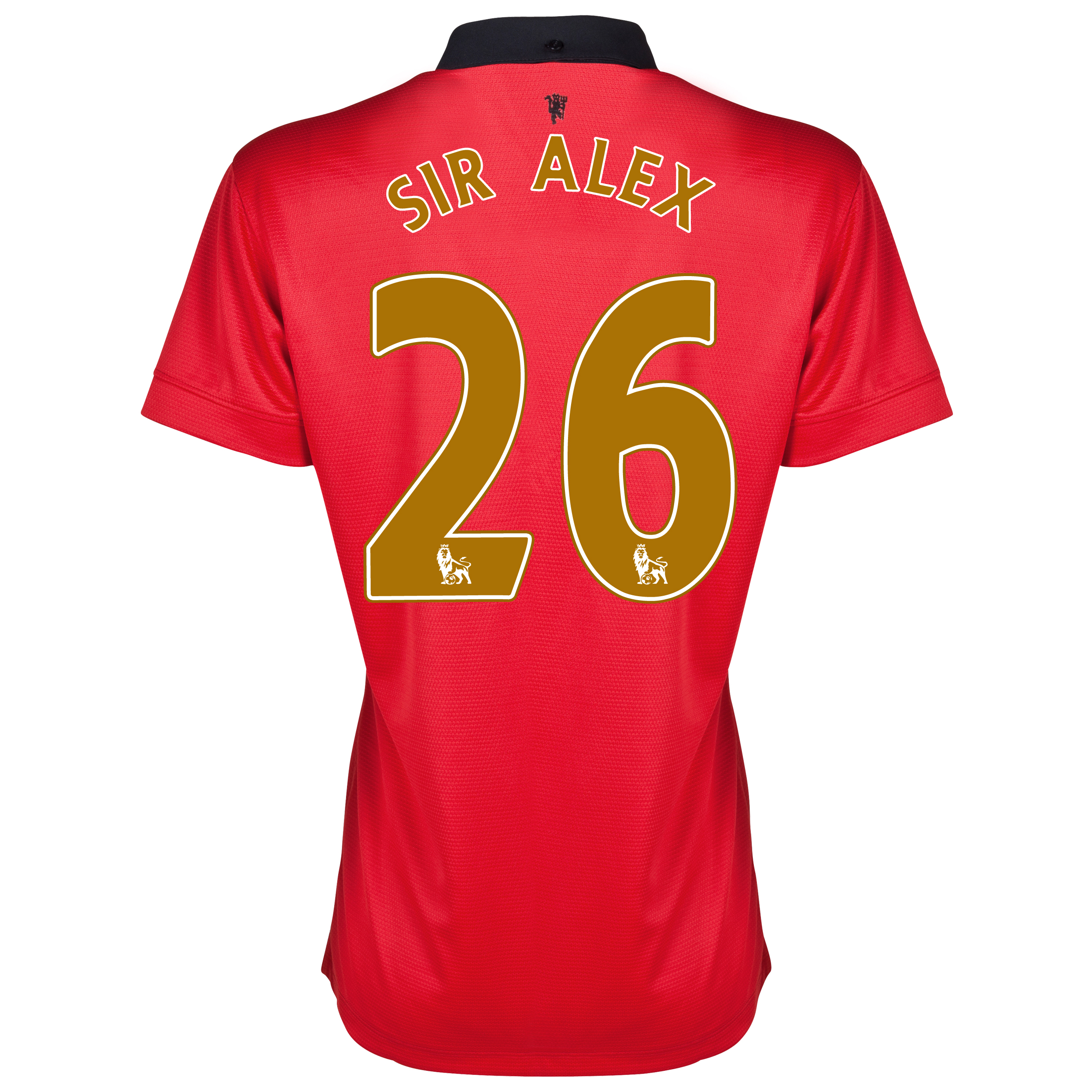 Manchester United Home Shirt 2013/14 - Womens with Sir Alex 26 printing