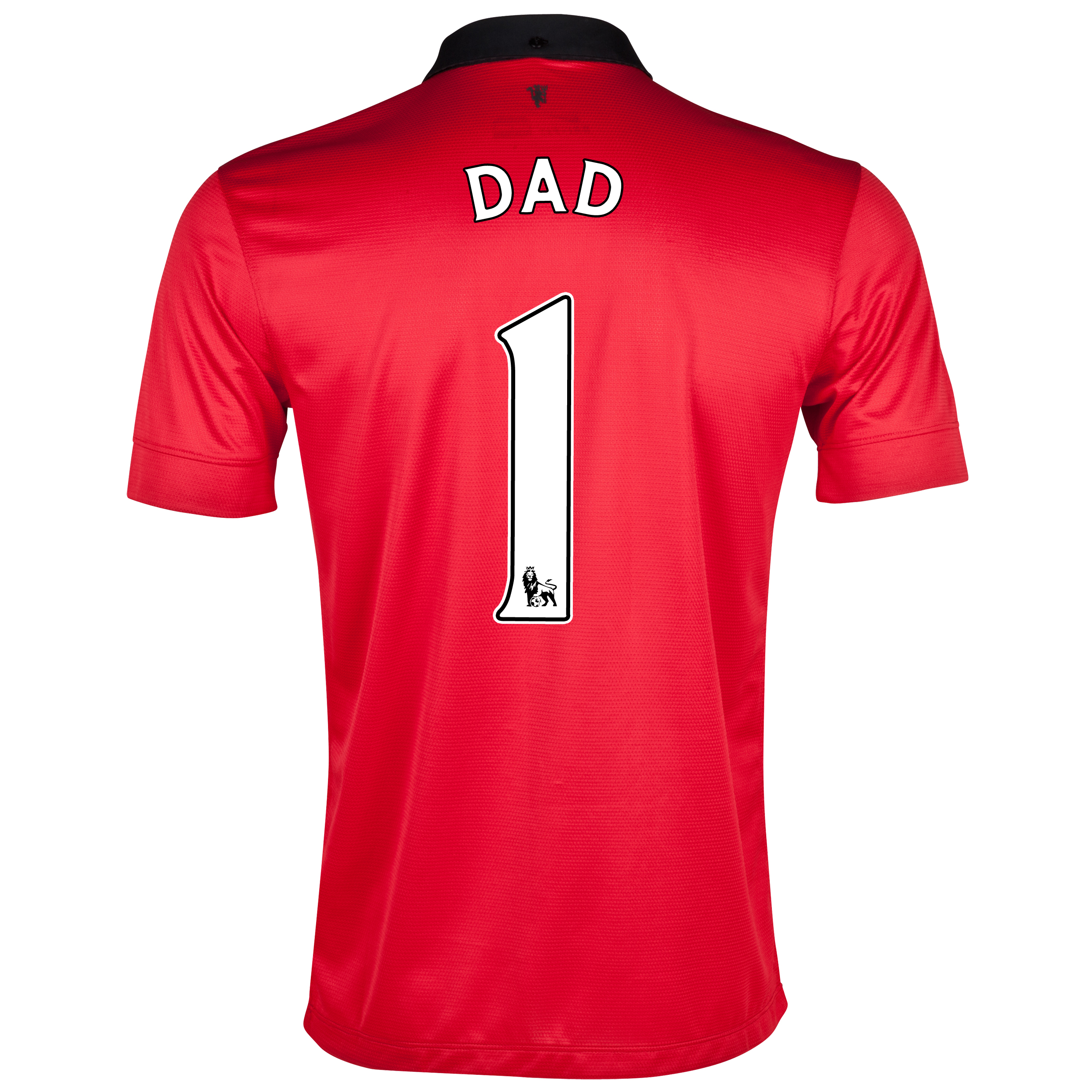 Manchester United Home Shirt 2013/14 with Dad 1 printing