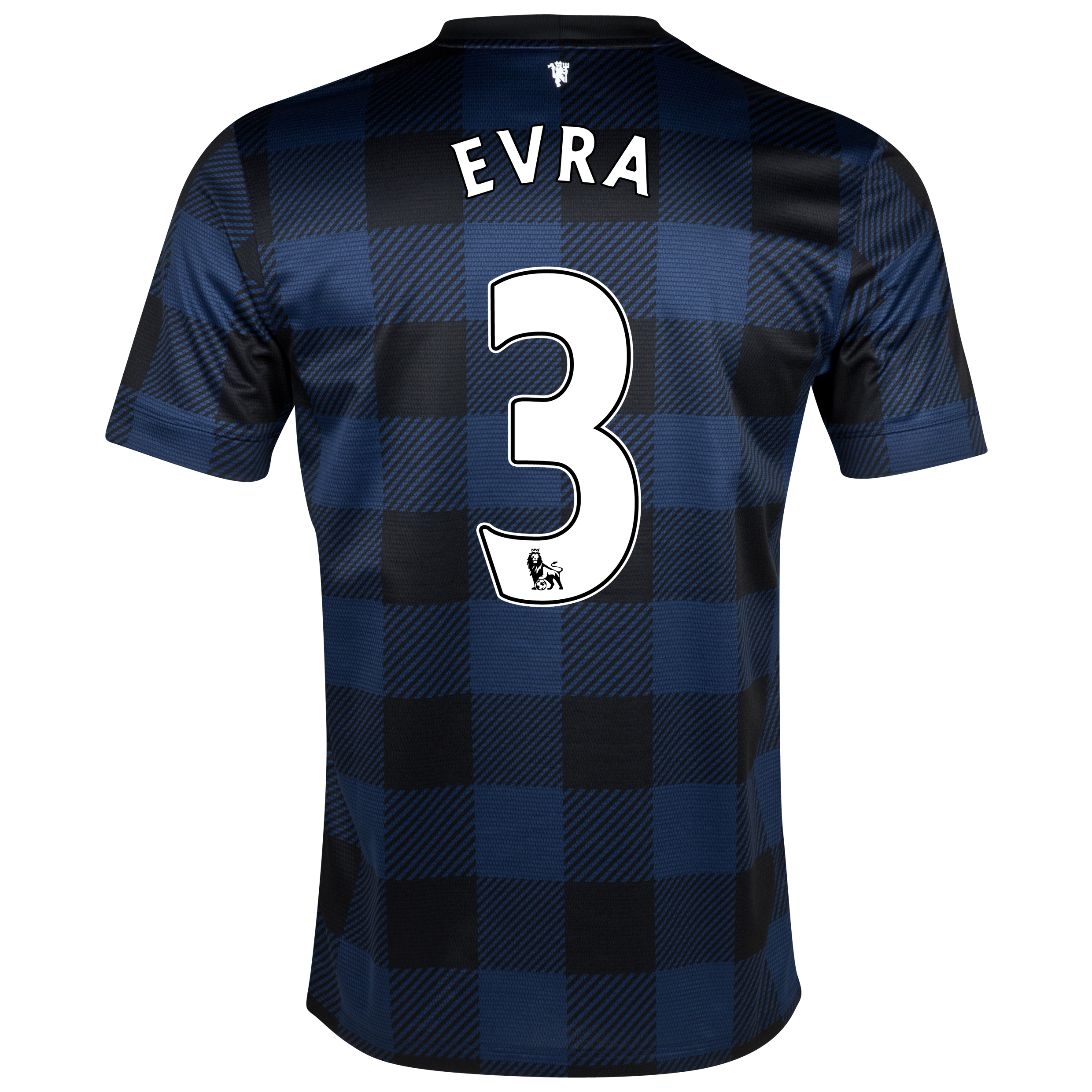 Manchester United Away Shirt 2013/14 with Evra 3 printing