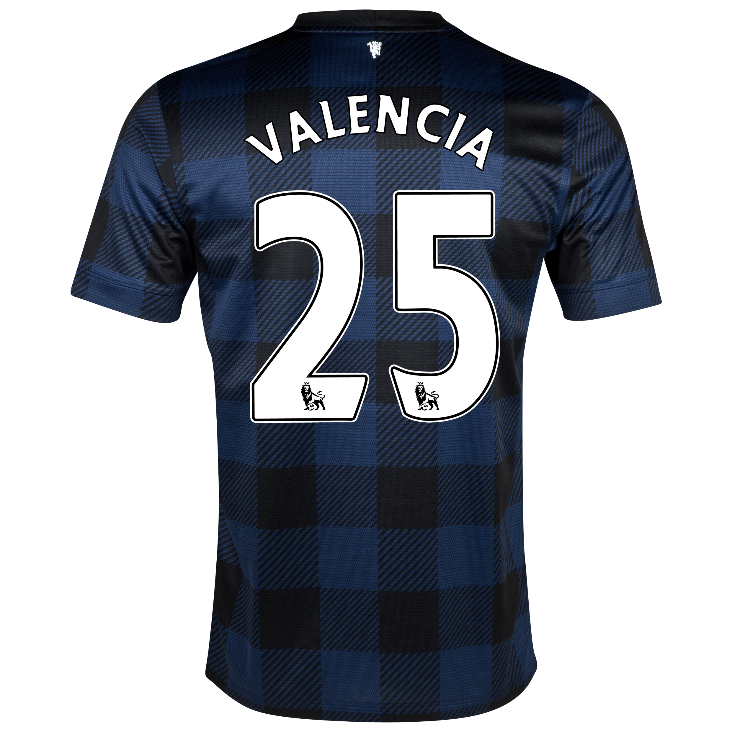 Manchester United Away Shirt 2013/14 with Valencia 25 printing