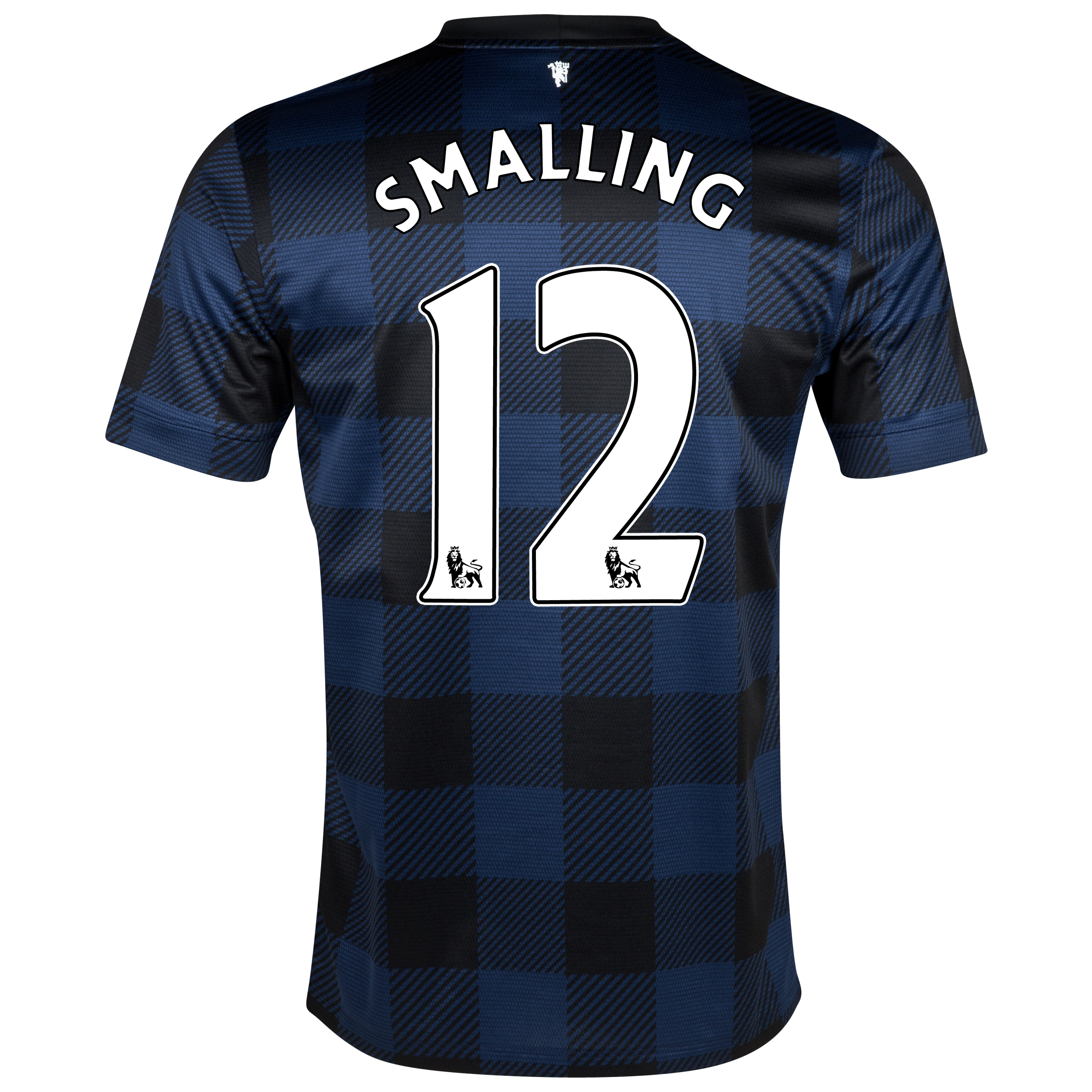 Manchester United Away Shirt 2013/14 with Smalling 12 printing