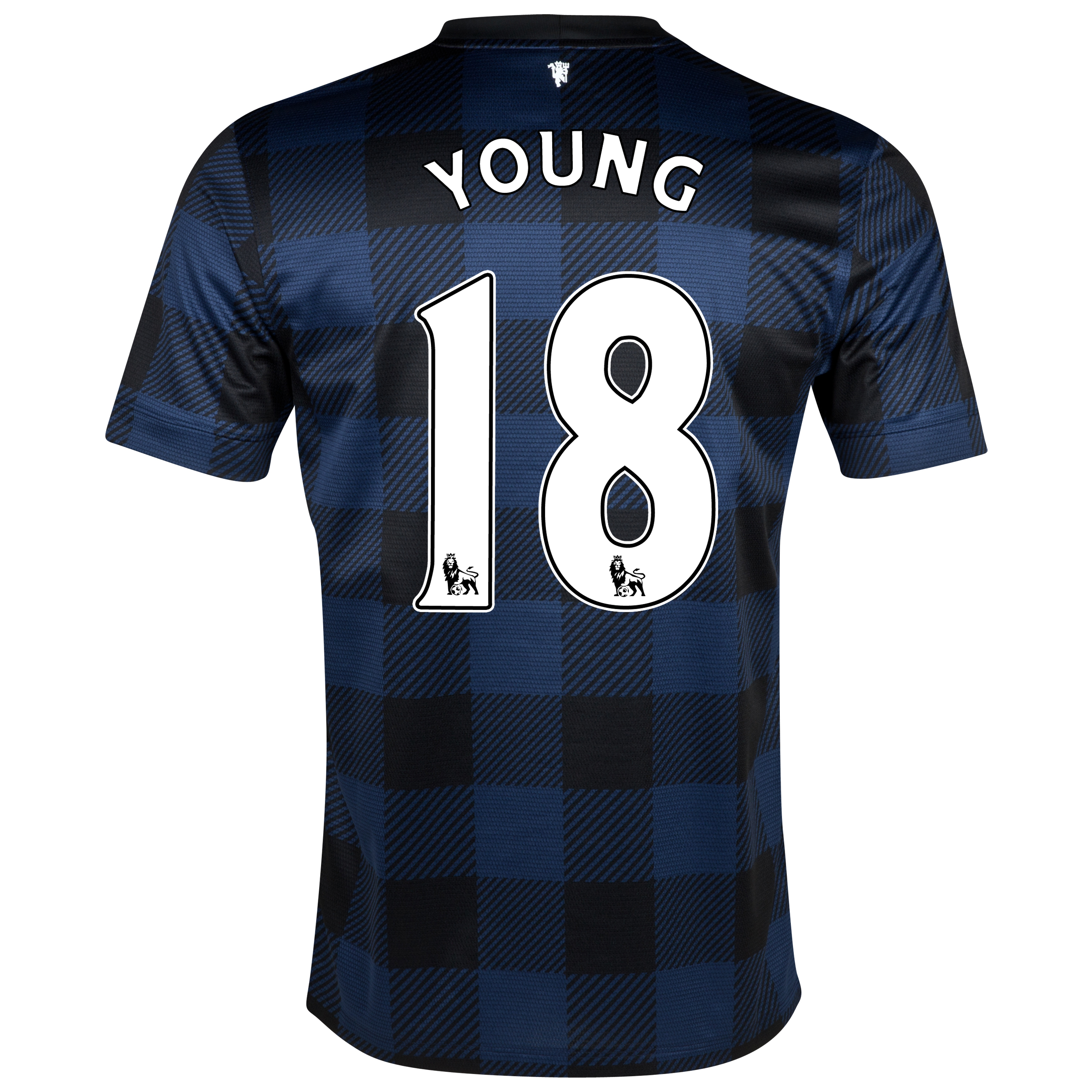 Manchester United Away Shirt 2013/14 with Young 18 printing