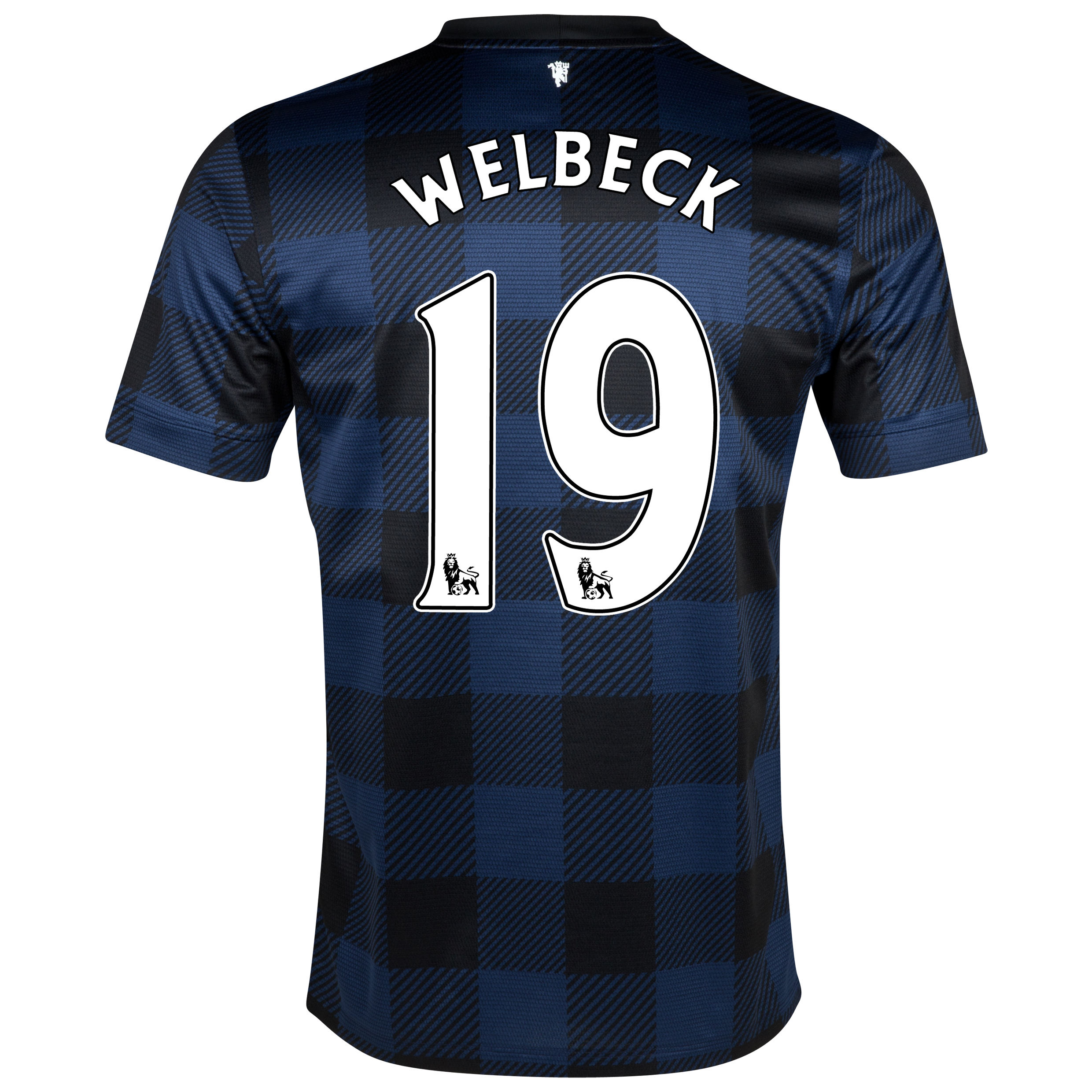 Manchester United Away Shirt 2013/14 with Welbeck 19 printing
