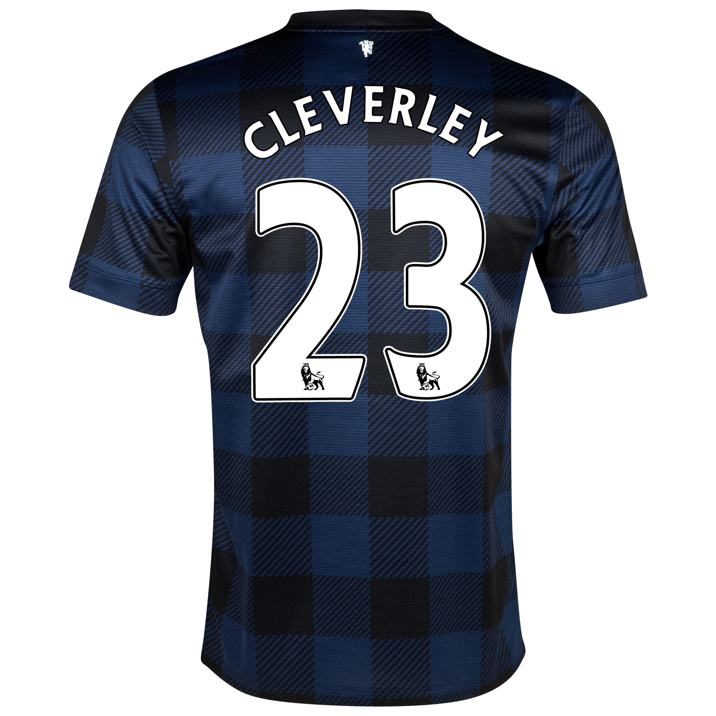 Manchester United Away Shirt 2013/14 with Cleverley 23 printing