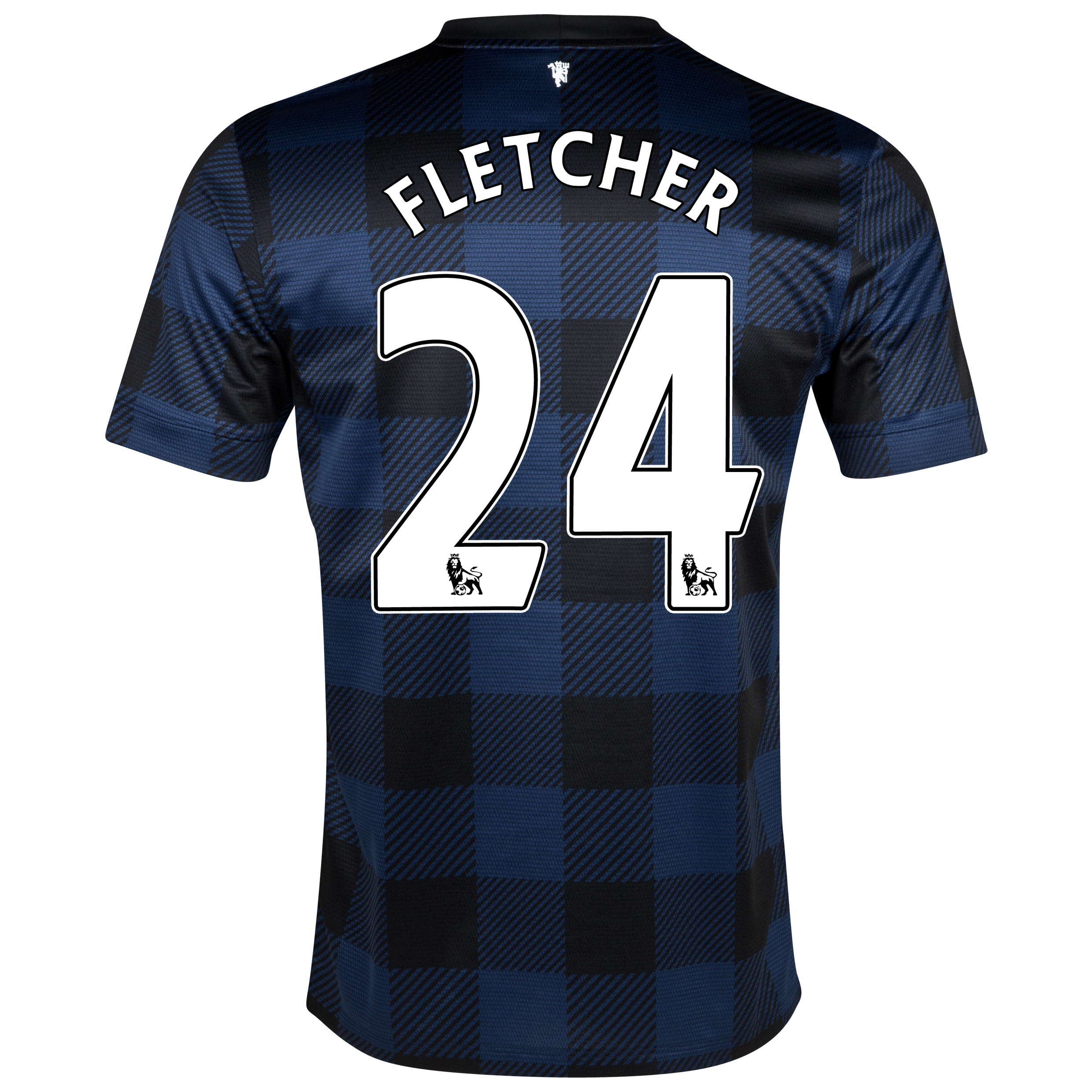 Manchester United Away Shirt 2013/14 with Fletcher 24 printing