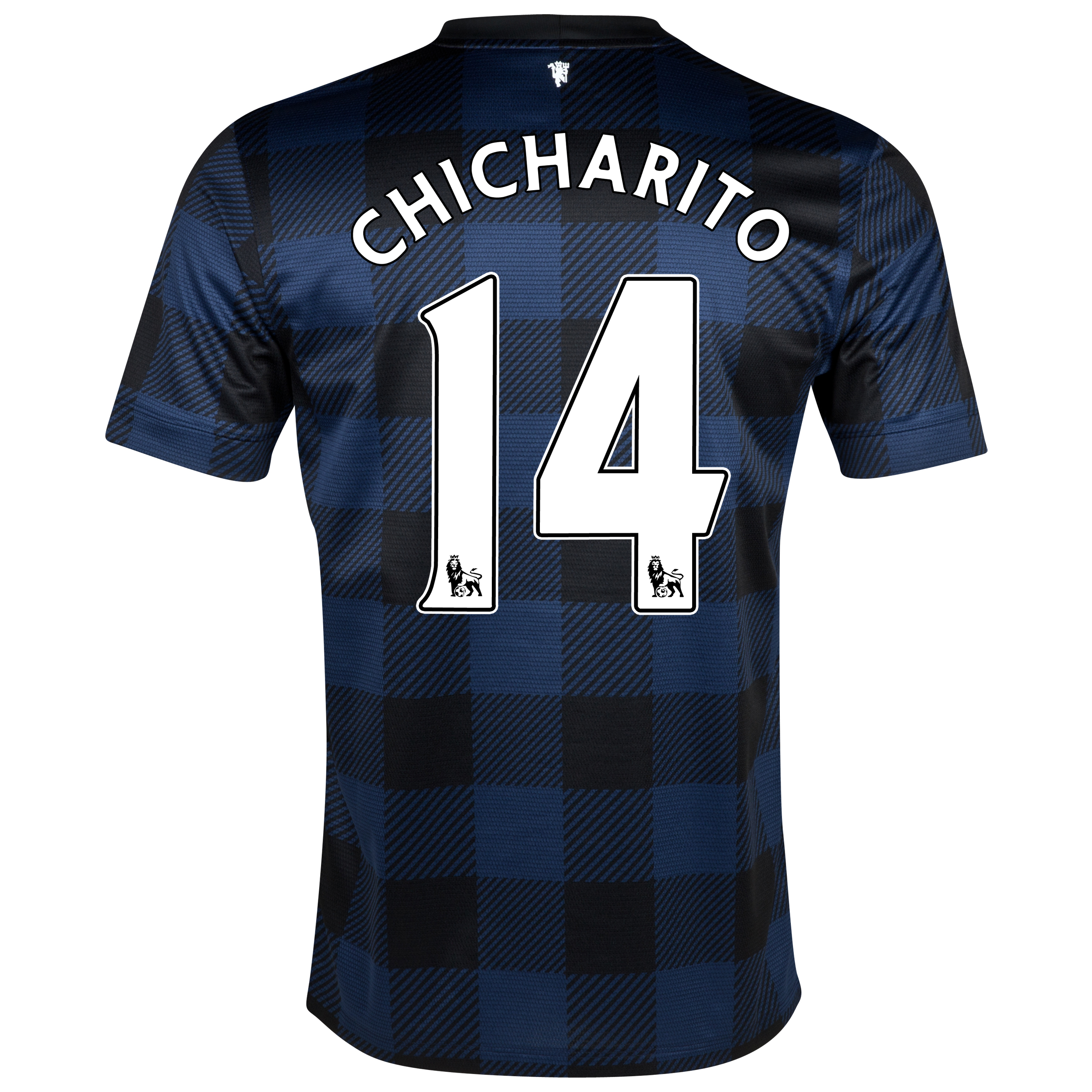 Manchester United Away Shirt 2013/14 - Kids with Chicharito 14 printing