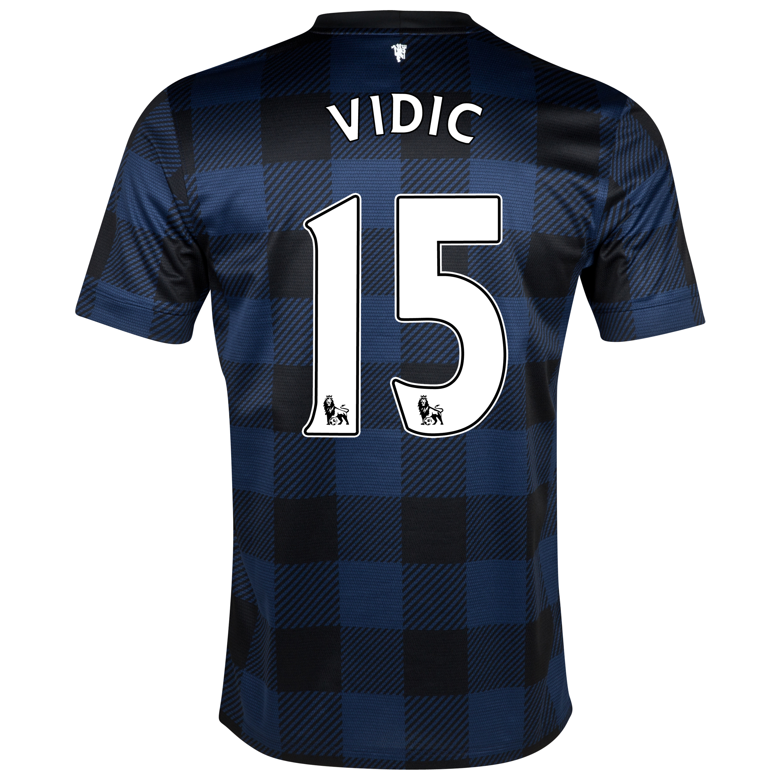 Manchester United Away Shirt 2013/14 - Kids with Vidic 15 printing