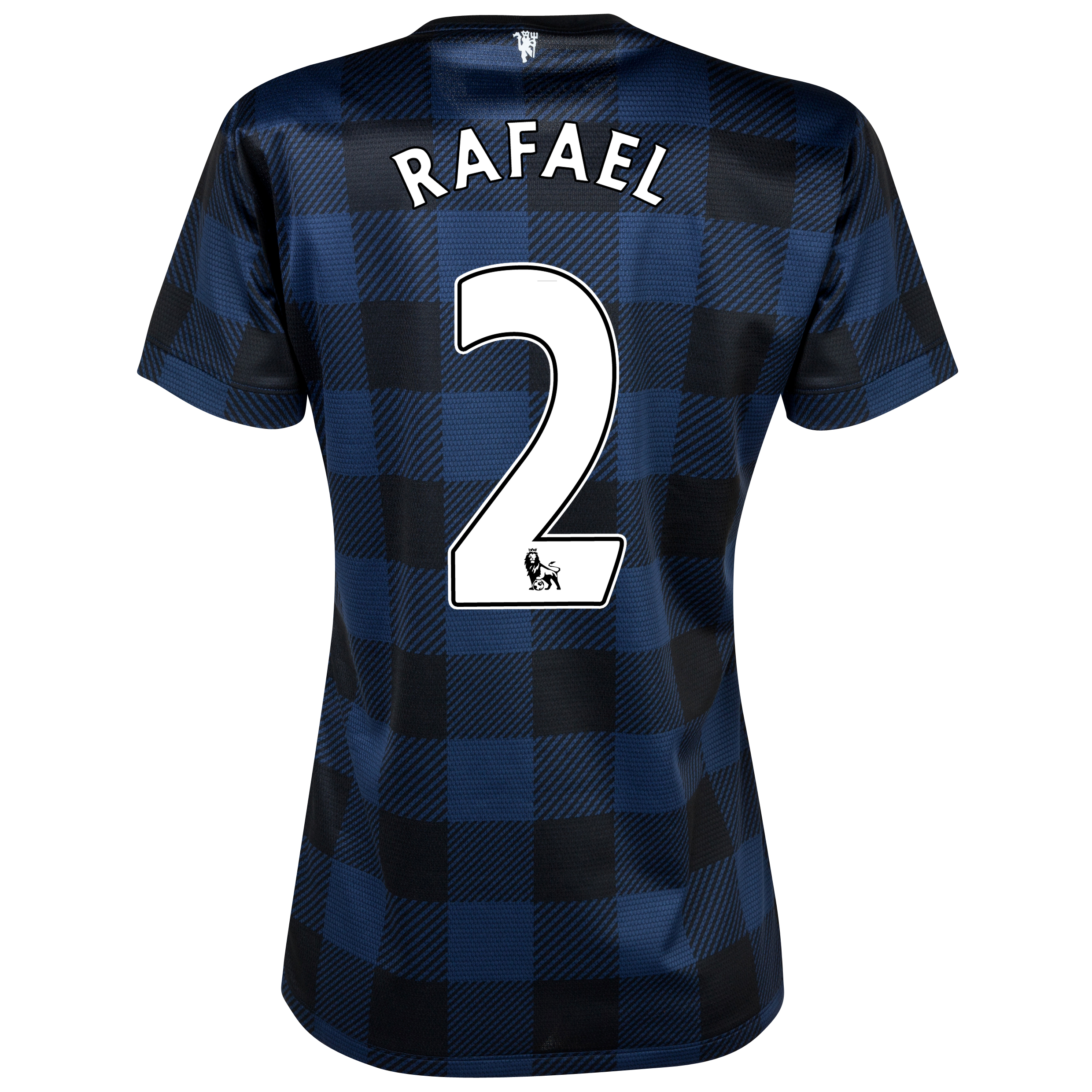 Manchester United Away Shirt 2013/14 - Womens with Rafael 2 printing