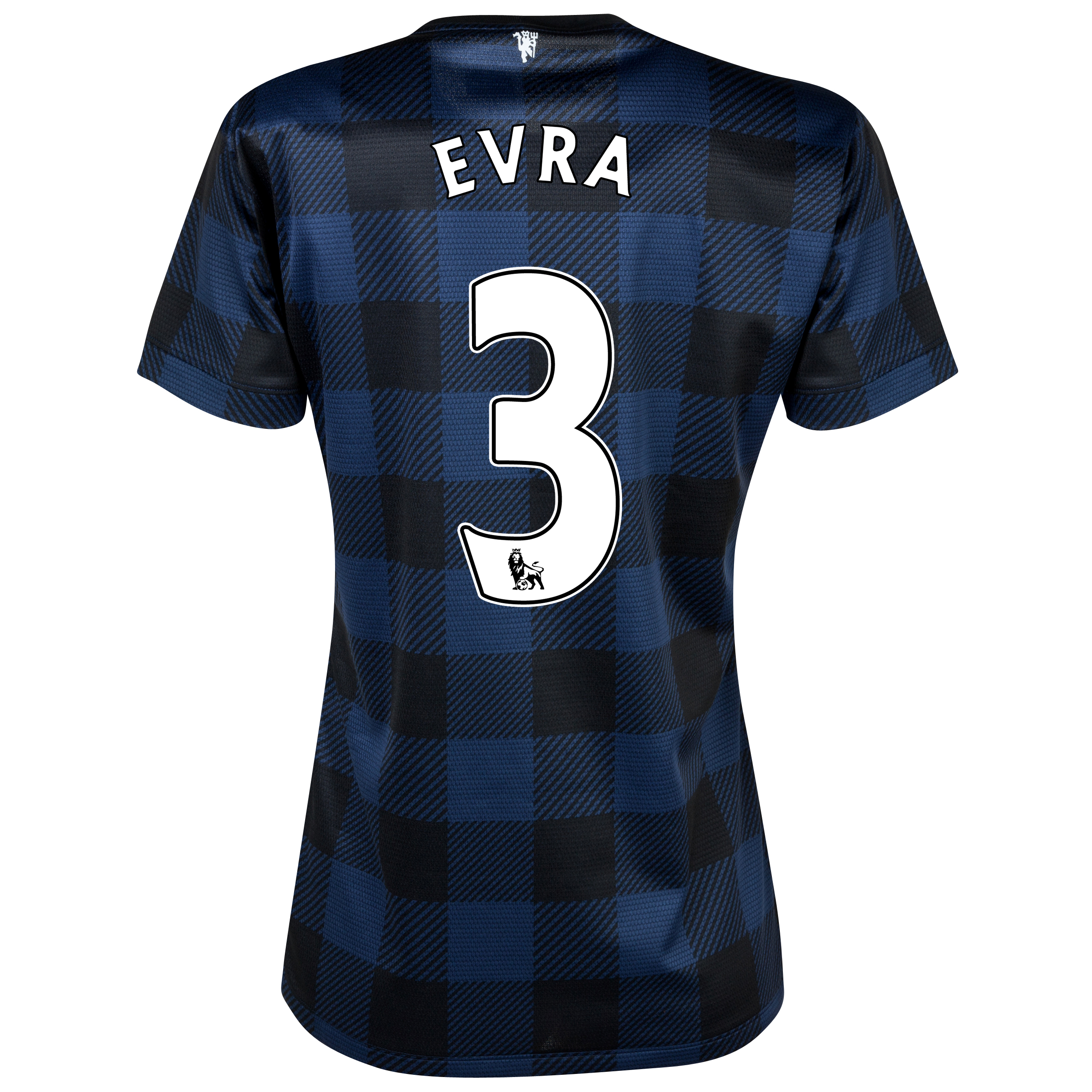 Manchester United Away Shirt 2013/14 - Womens with Evra 3 printing