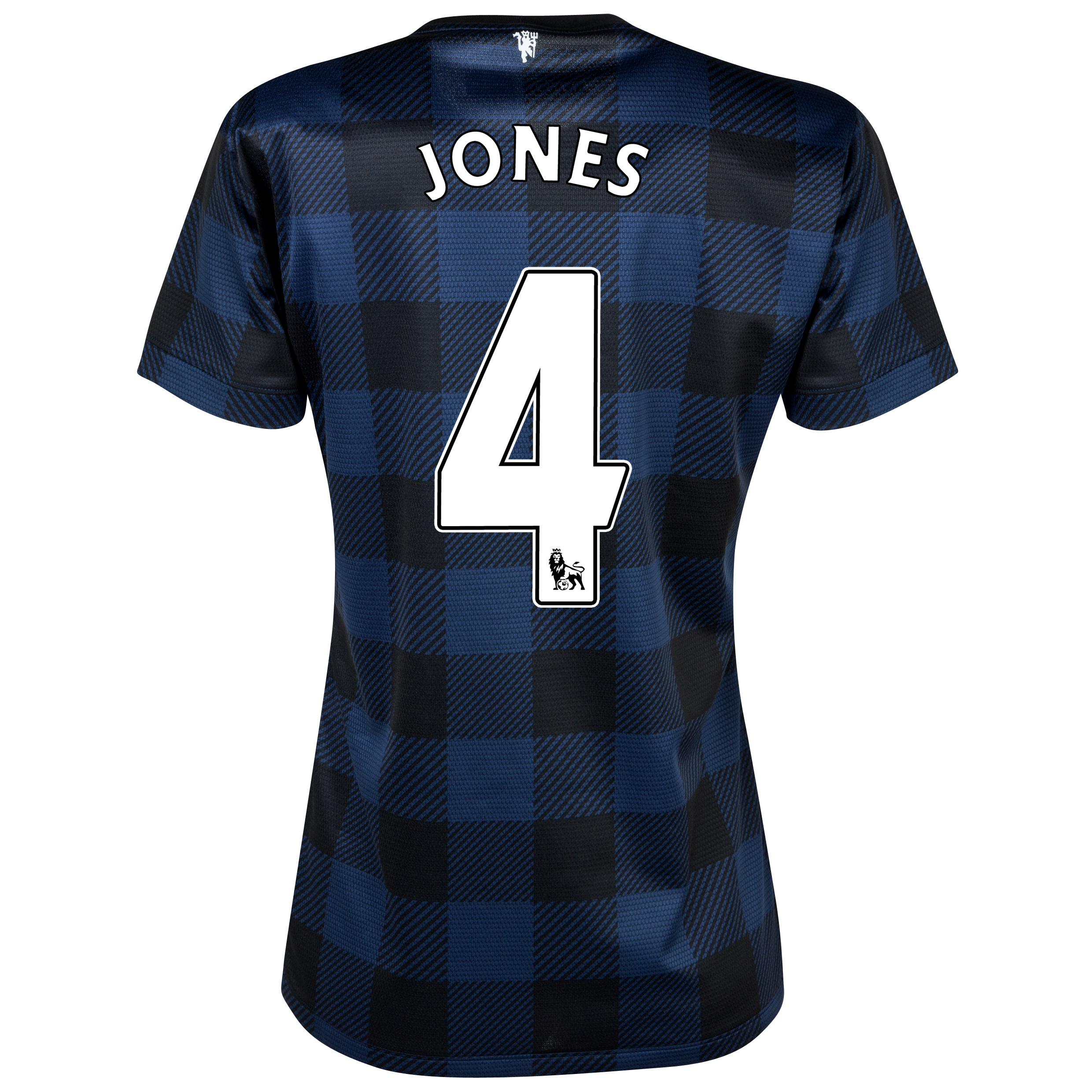 Manchester United Away Shirt 2013/14 - Womens with Jones 4 printing