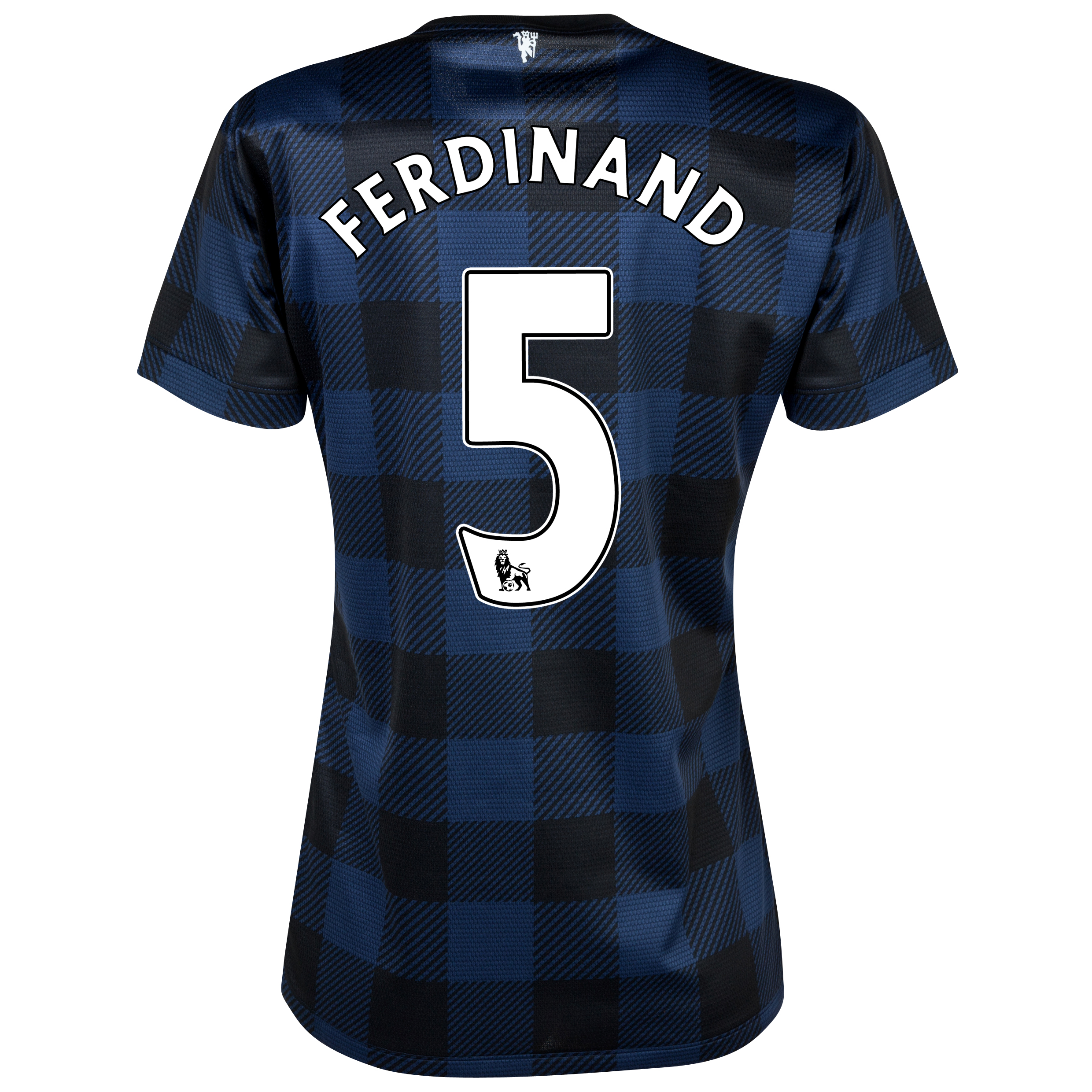 Manchester United Away Shirt 2013/14 - Womens with Ferdinand 5 printing