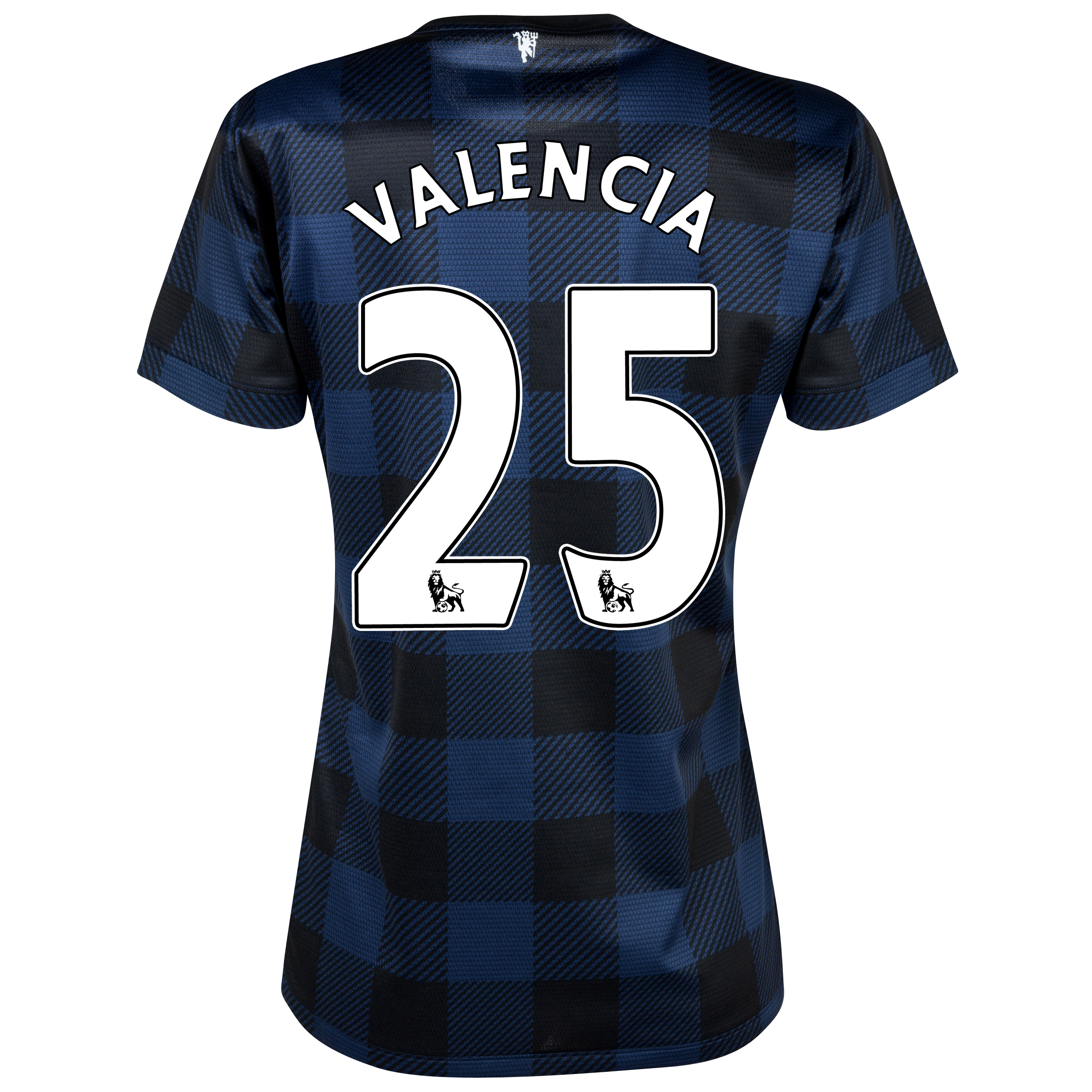Manchester United Away Shirt 2013/14 - Womens with Valencia 25 printing