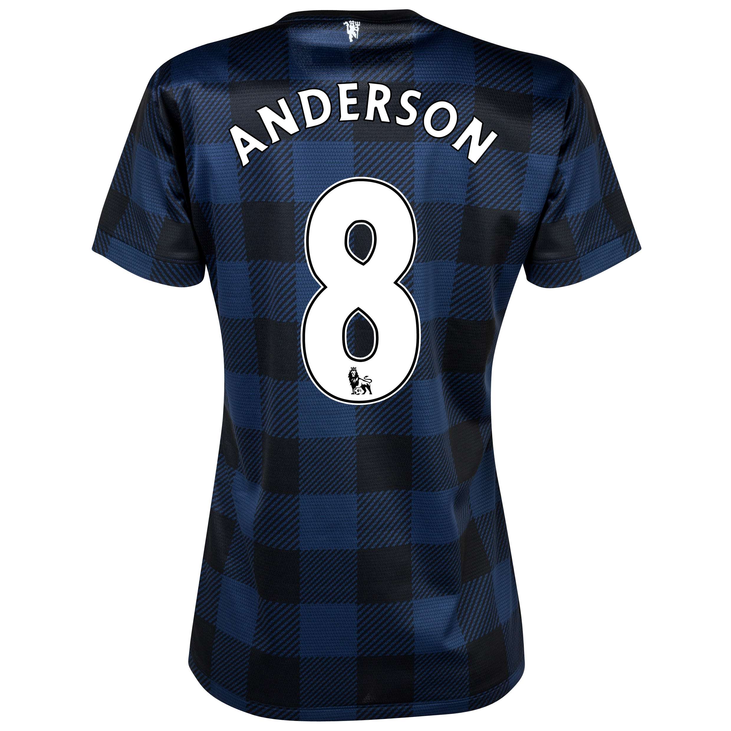 Manchester United Away Shirt 2013/14 - Womens with Anderson 8 printing