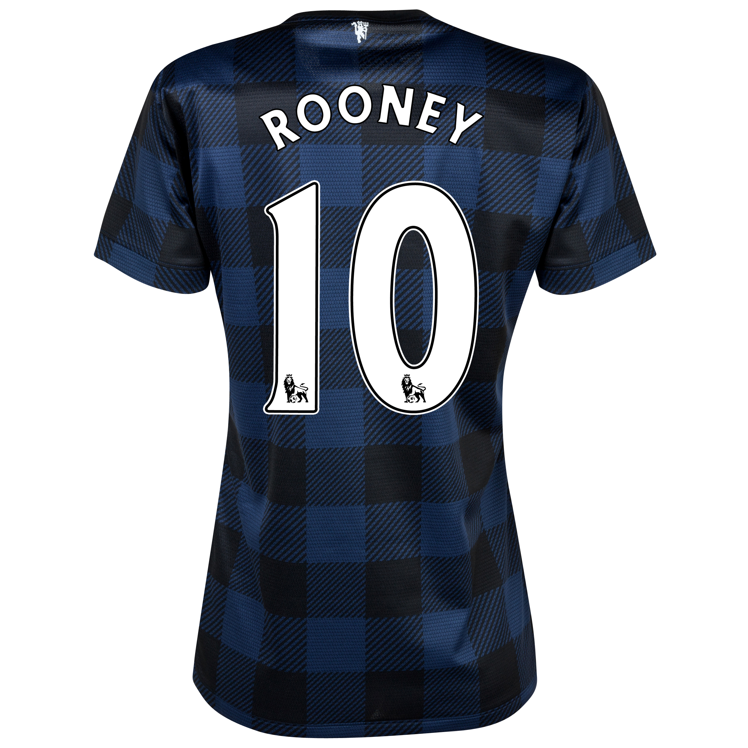 Manchester United Away Shirt 2013/14 - Womens with Rooney 10 printing
