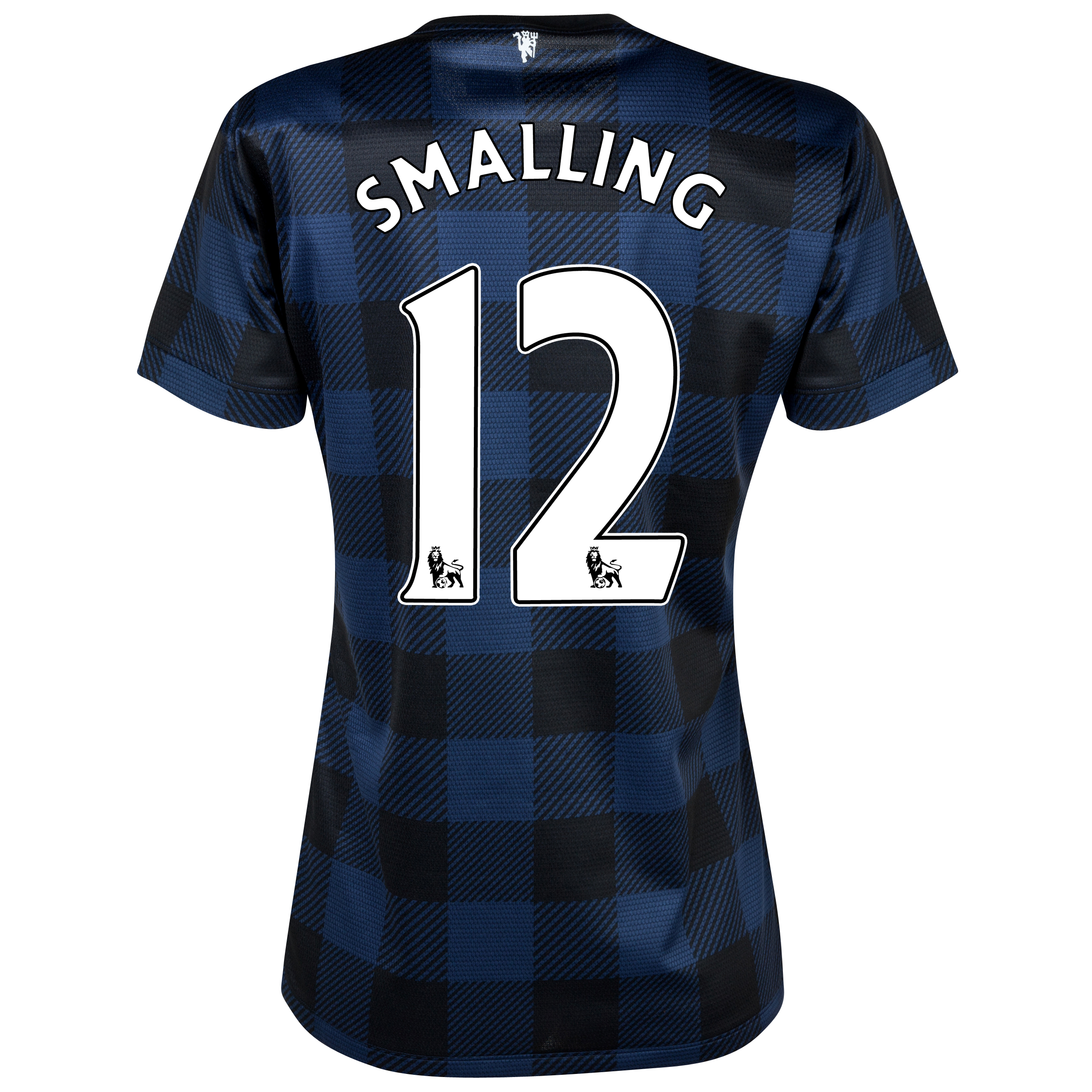Manchester United Away Shirt 2013/14 - Womens with Smalling 12 printing