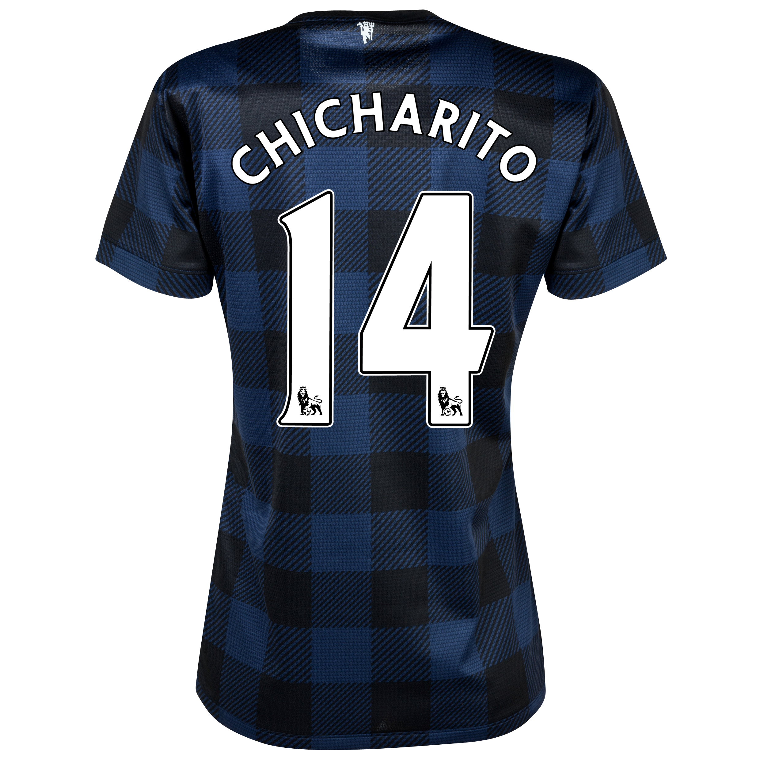 Manchester United Away Shirt 2013/14 - Womens with Chicharito 14 printing