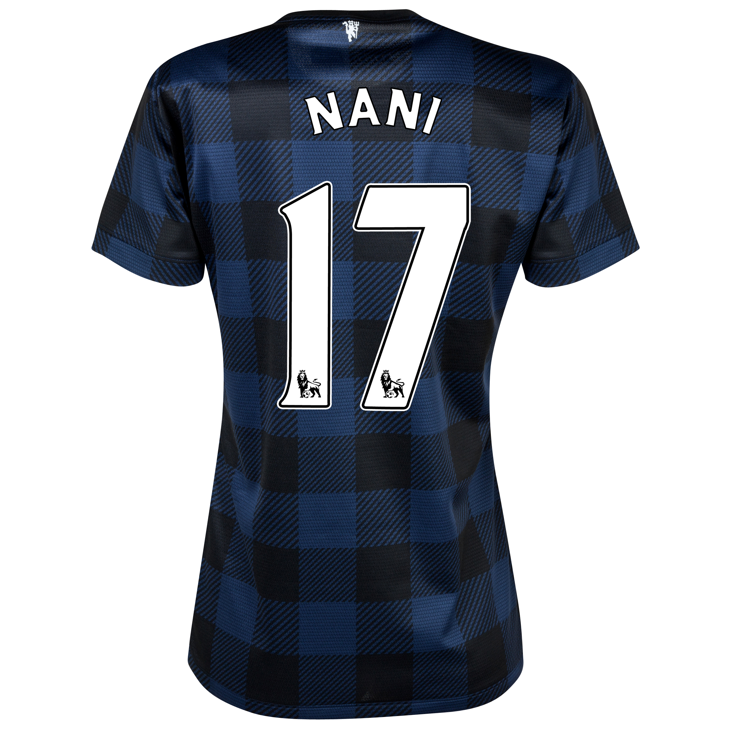 Manchester United Away Shirt 2013/14 - Womens with Nani 17 printing