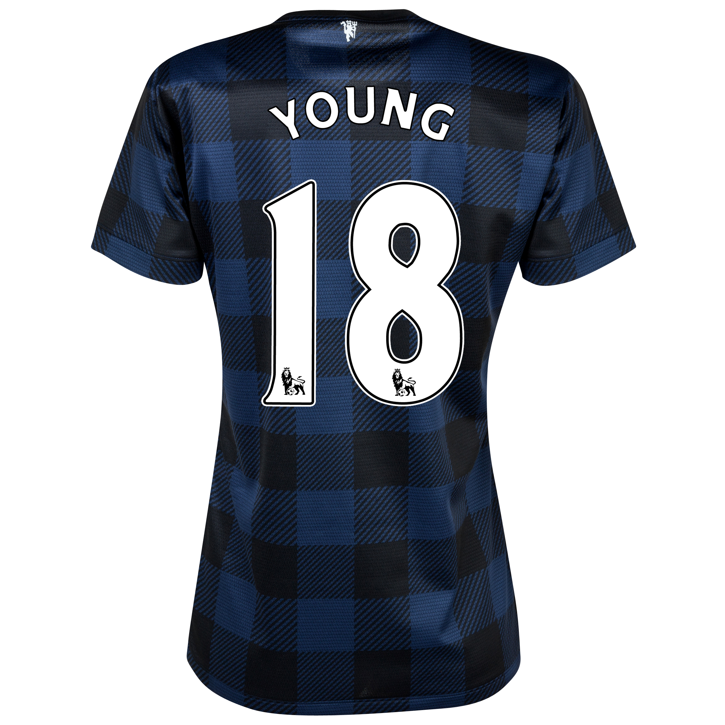 Manchester United Away Shirt 2013/14 - Womens with Young 18 printing
