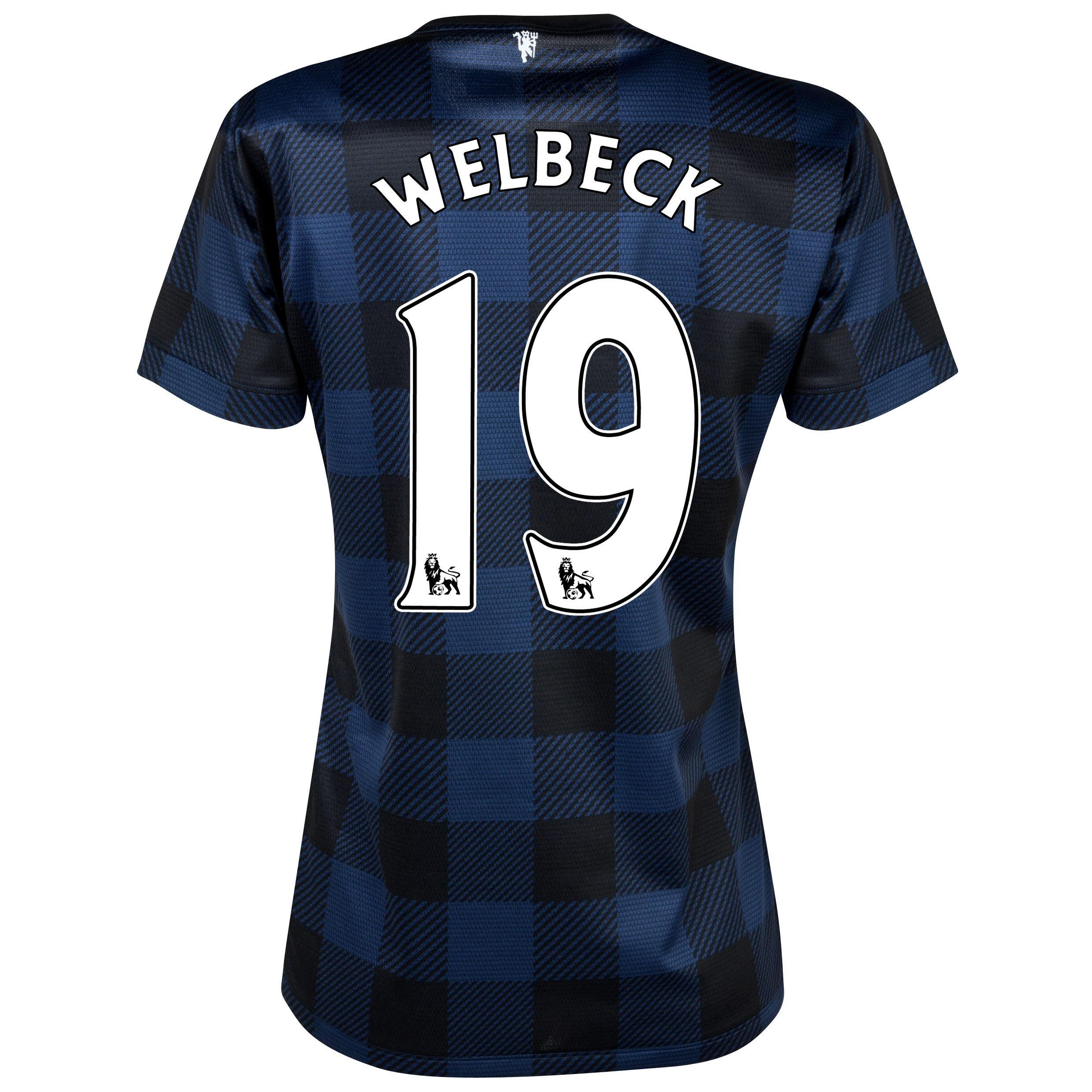 Manchester United Away Shirt 2013/14 - Womens with Welbeck 19 printing