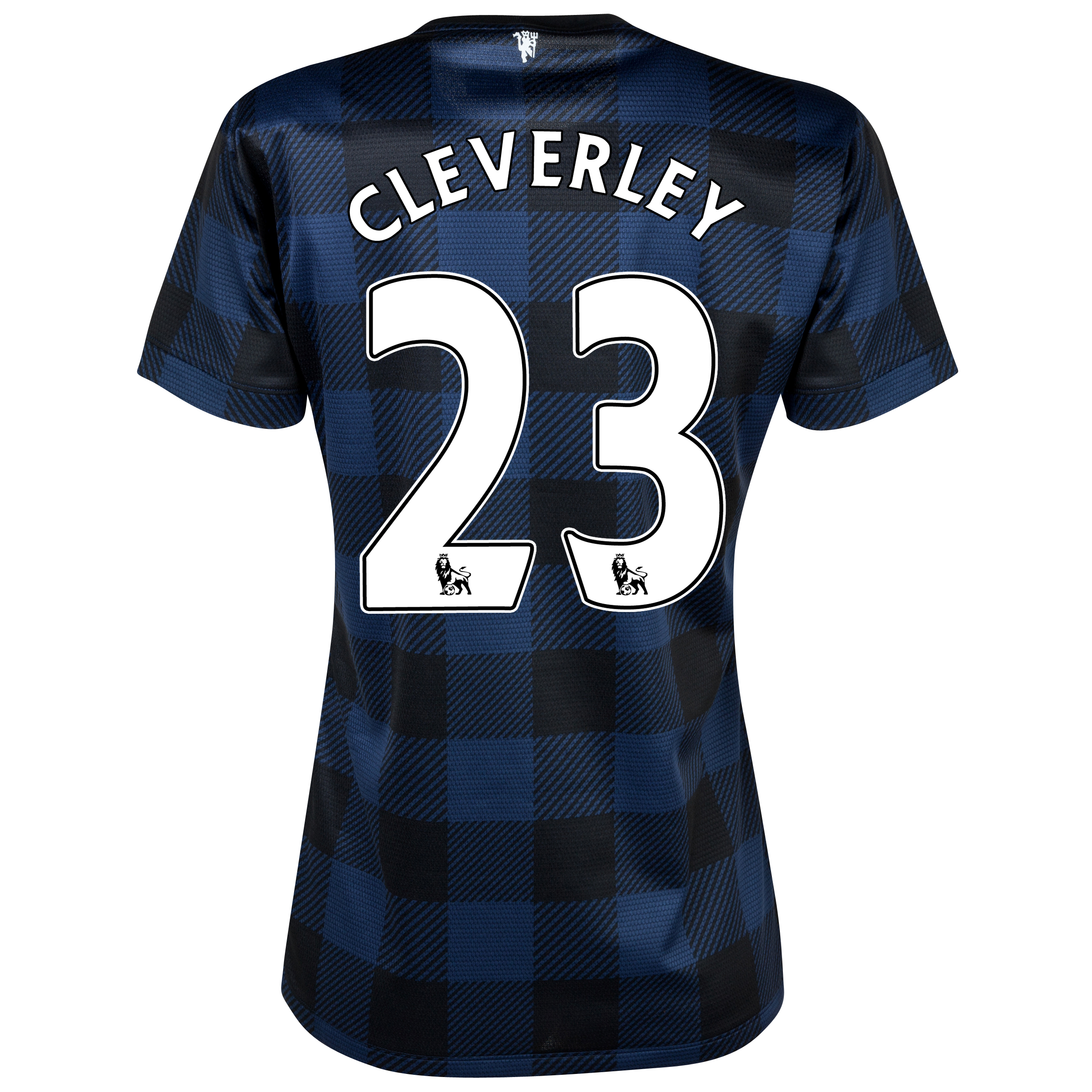 Manchester United Away Shirt 2013/14 - Womens with Cleverley 23 printing