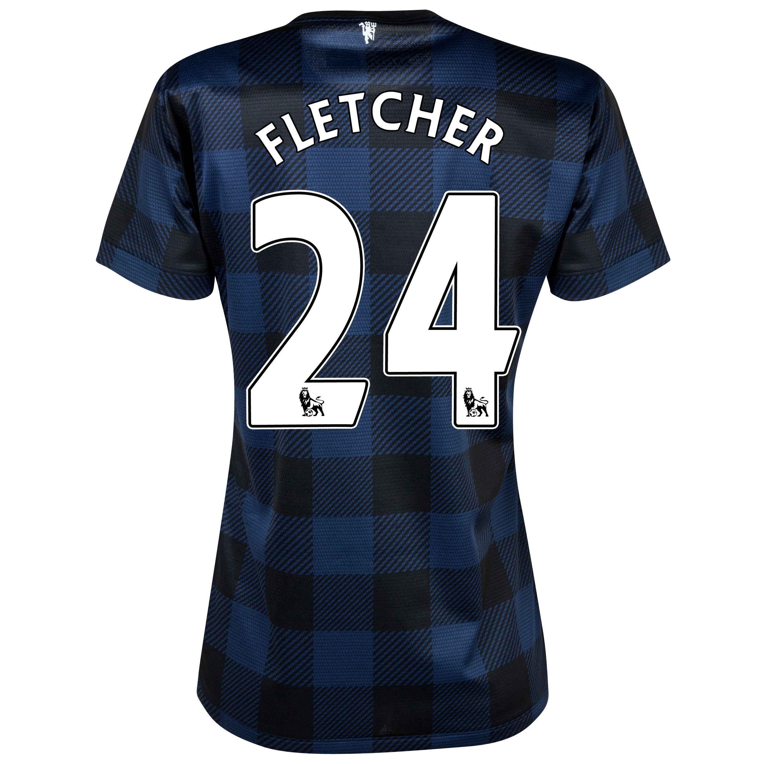 Manchester United Away Shirt 2013/14 - Womens with Fletcher 24 printing