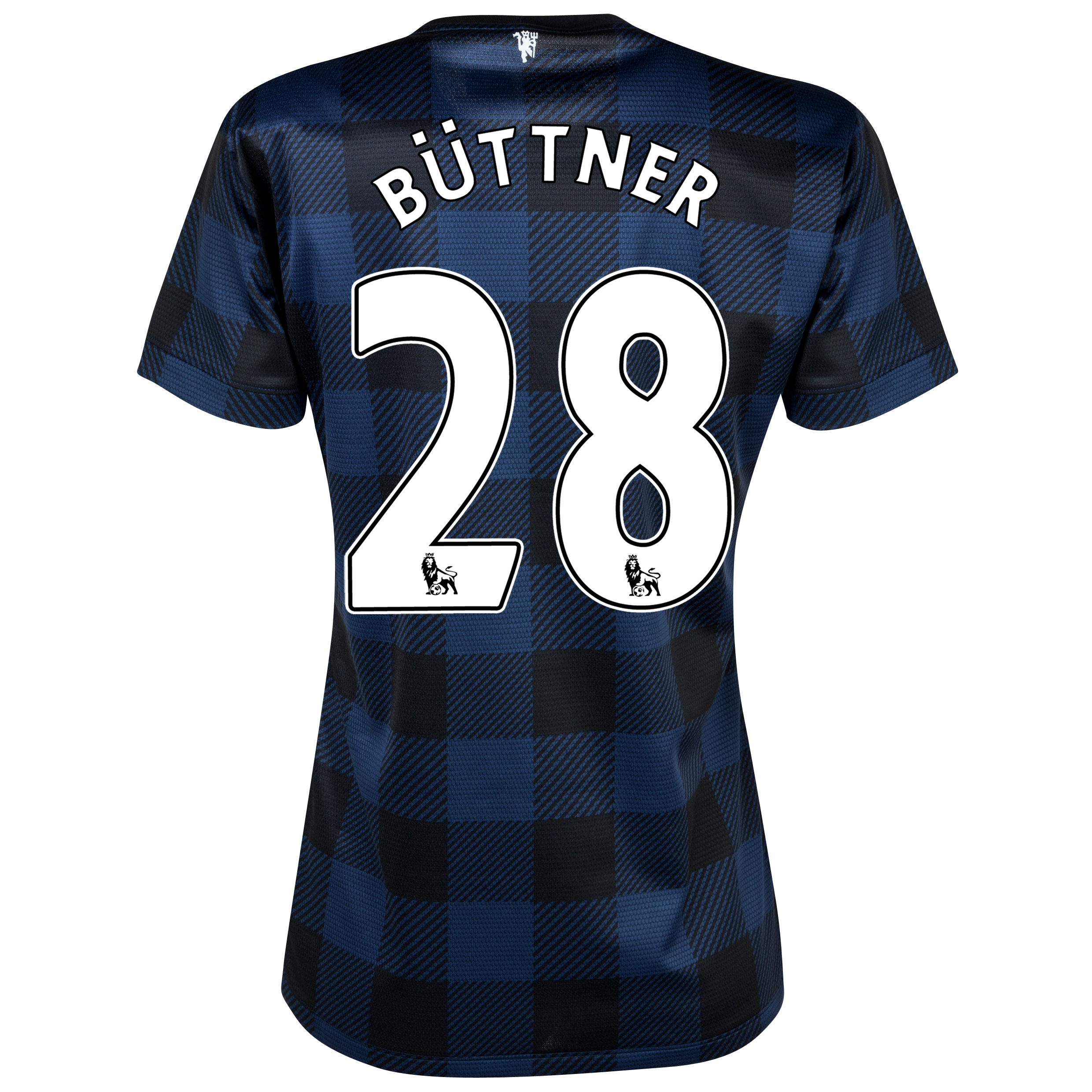 Manchester United Away Shirt 2013/14 - Womens with Büttner 28 printing