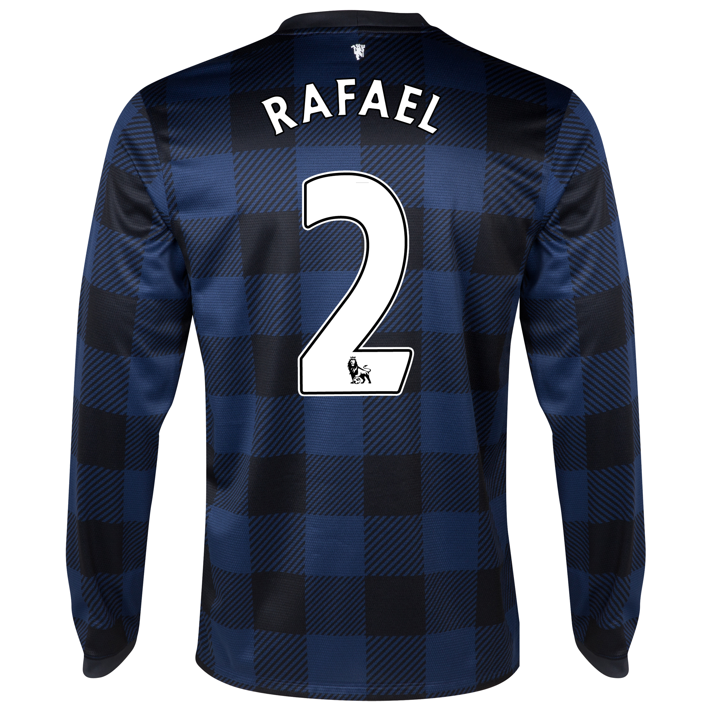 Manchester United Away Shirt 2013/14 - Long Sleeved with Rafael 2 printing