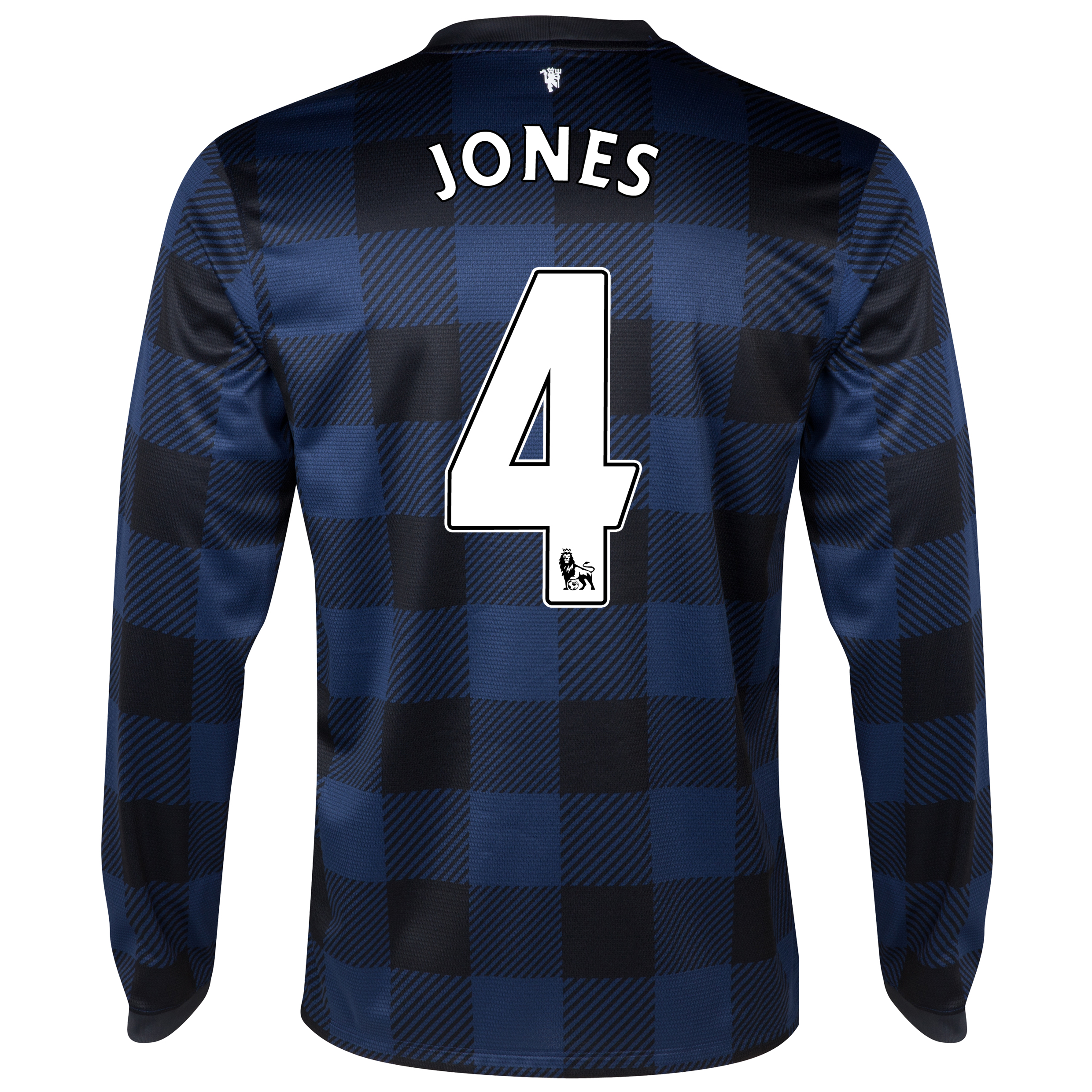 Manchester United Away Shirt 2013/14 - Long Sleeved with Jones 4 printing