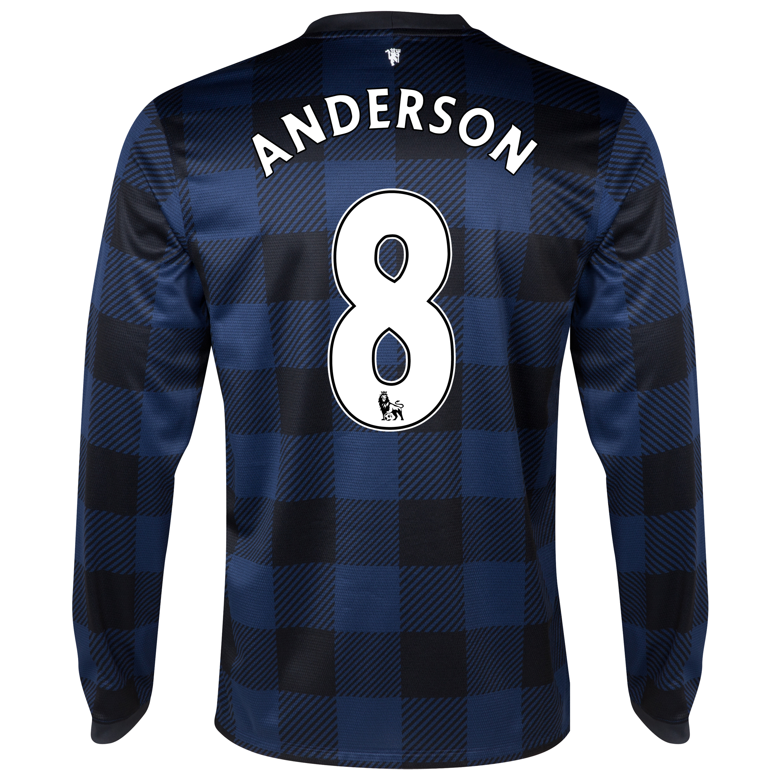 Manchester United Away Shirt 2013/14 - Long Sleeved with Anderson 8 printing