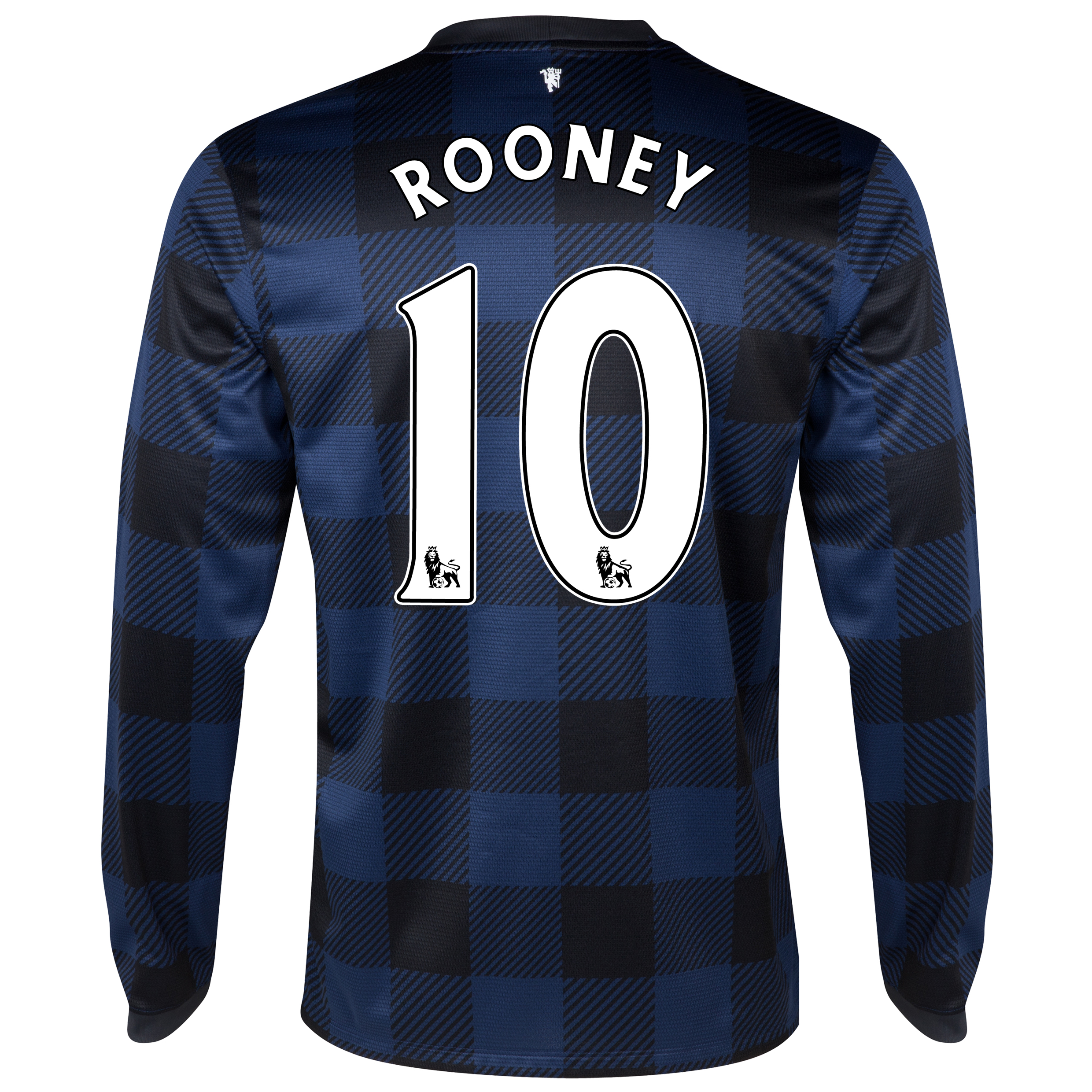 Manchester United Away Shirt 2013/14 - Long Sleeved with Rooney 10 printing