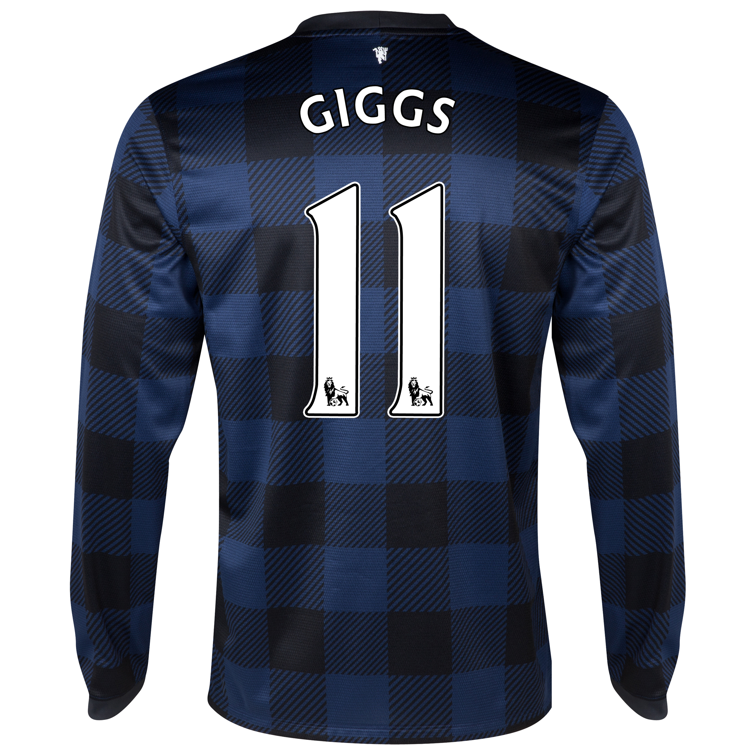 Manchester United Away Shirt 2013/14 - Long Sleeved with Giggs 11 printing