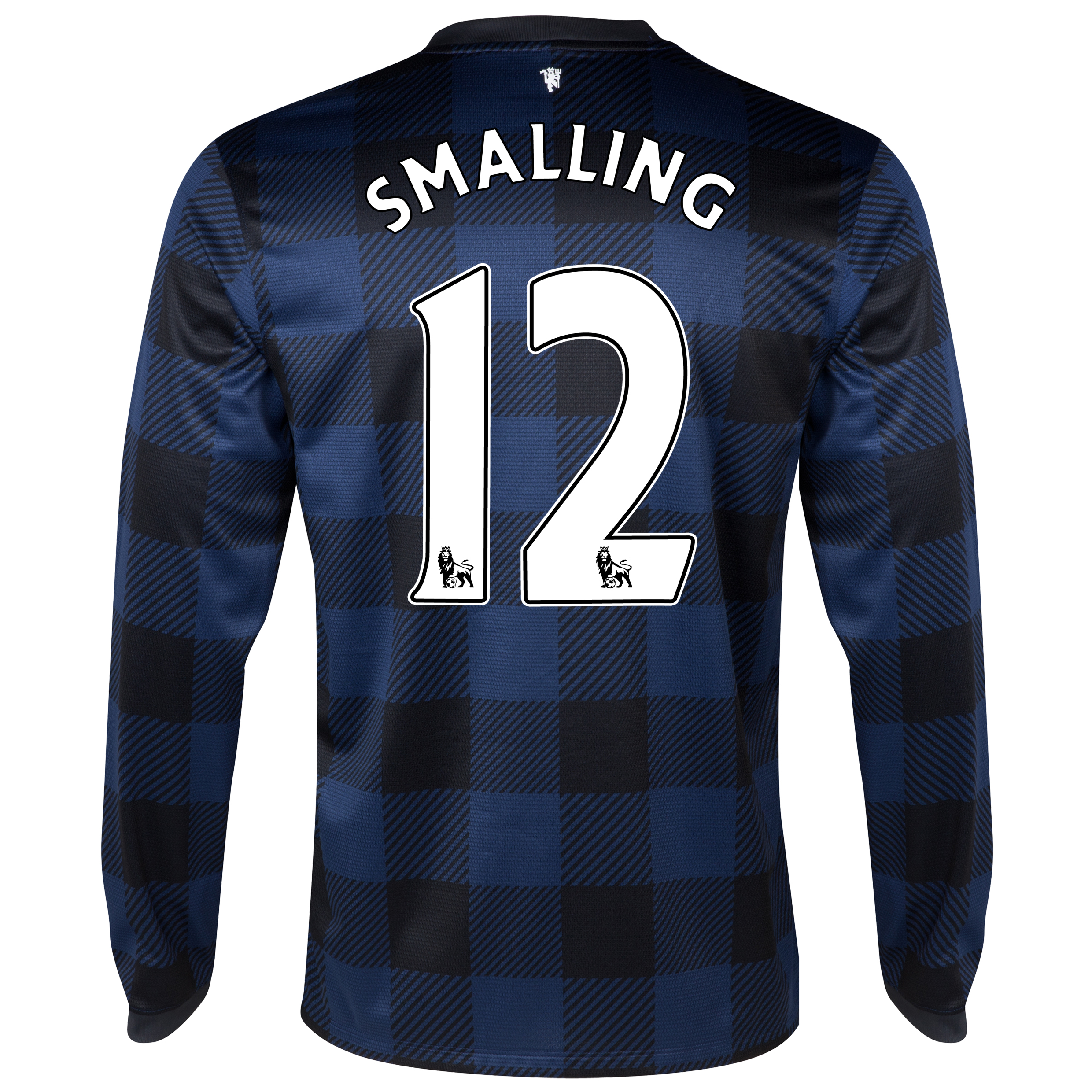 Manchester United Away Shirt 2013/14 - Long Sleeved with Smalling 12 printing