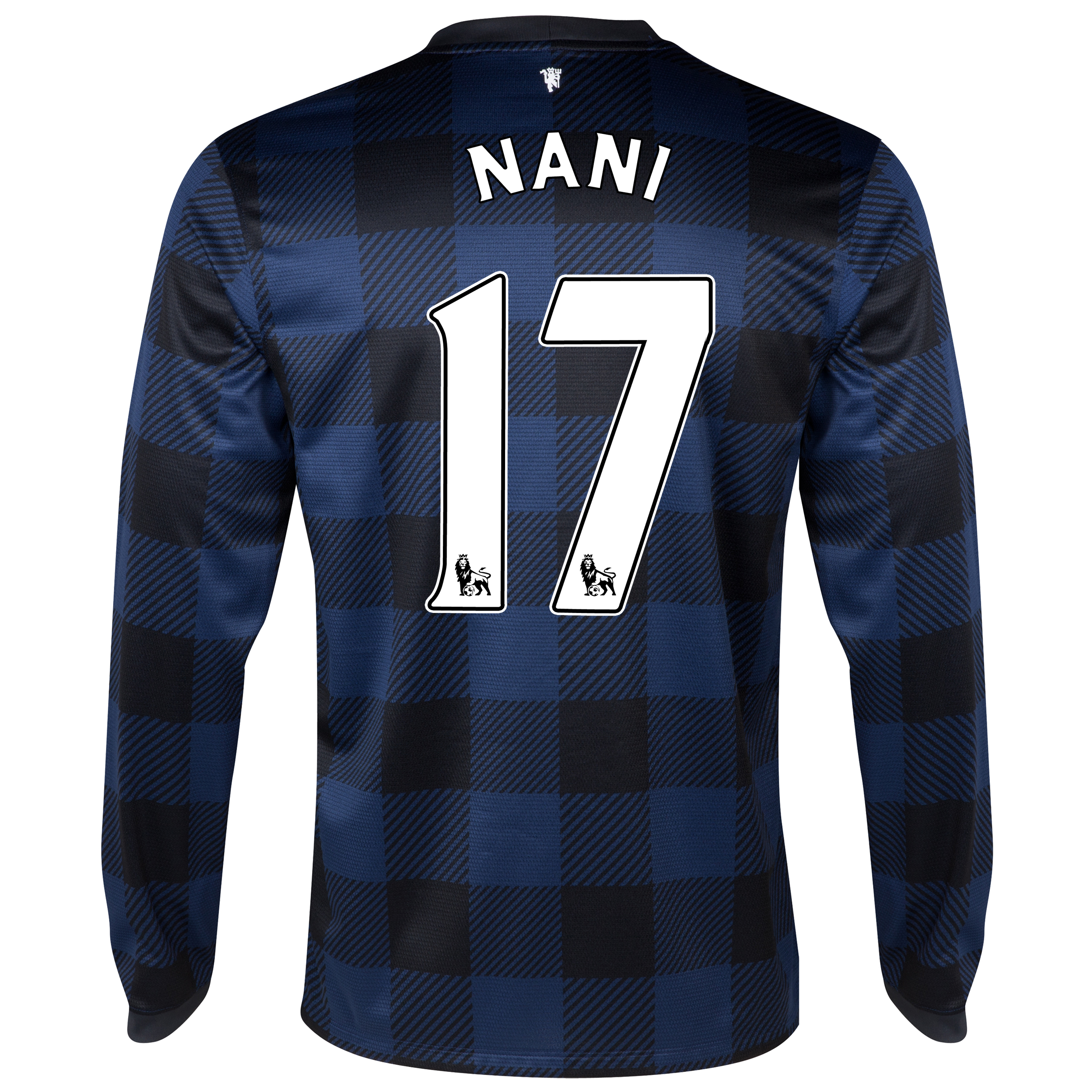 Manchester United Away Shirt 2013/14 - Long Sleeved with Nani 17 printing