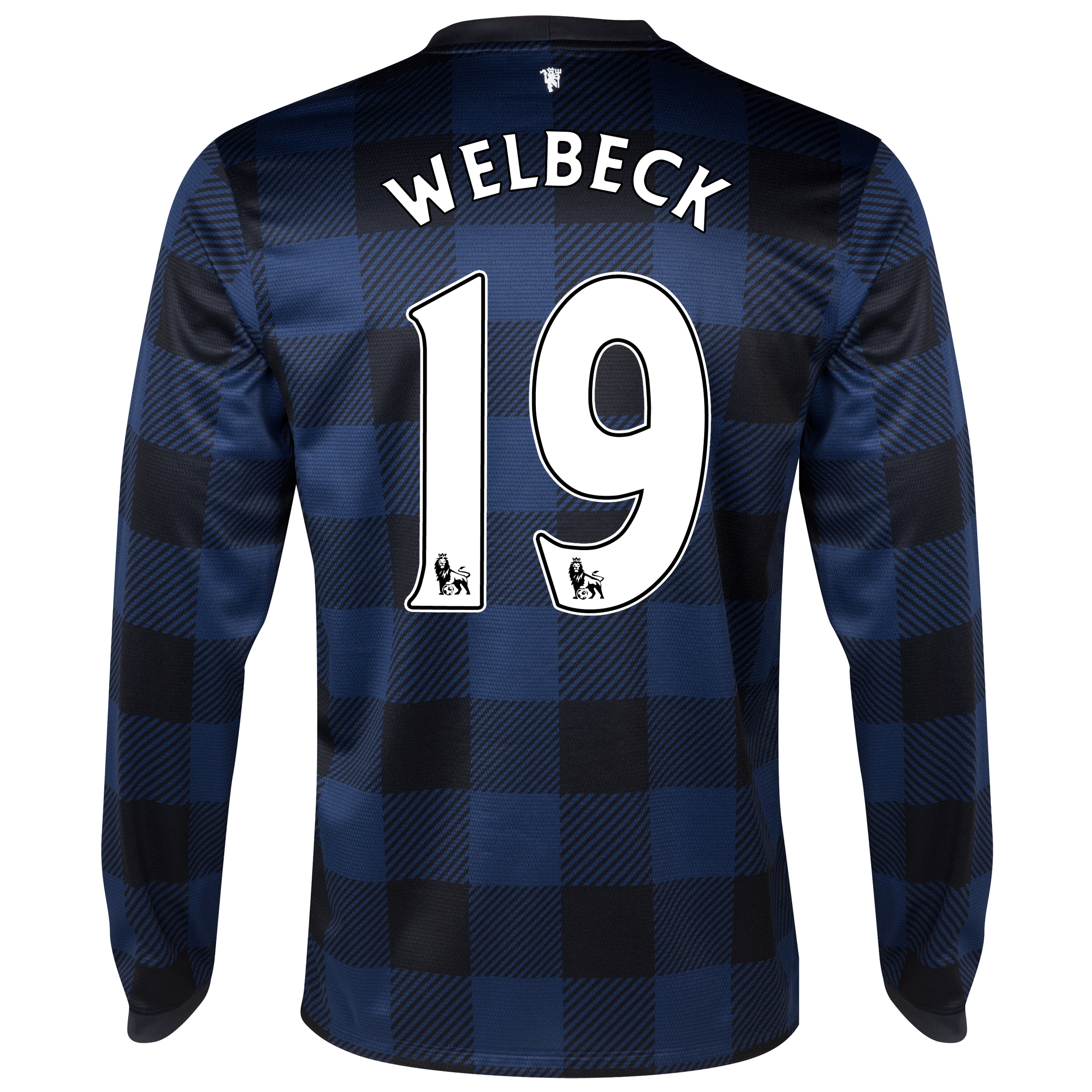 Manchester United Away Shirt 2013/14 - Long Sleeved with Welbeck 19 printing
