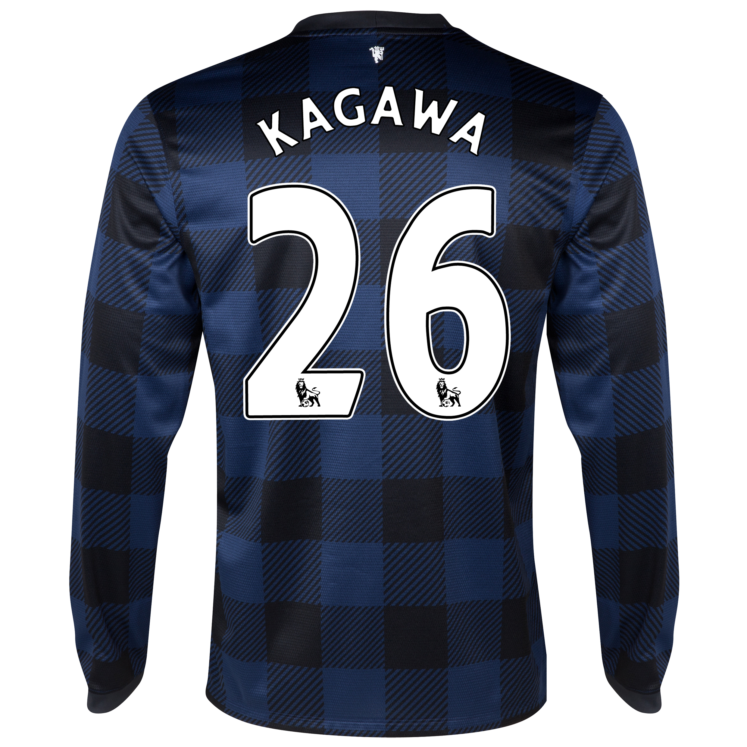 Manchester United Away Shirt 2013/14 - Long Sleeved with Kagawa 26 printing