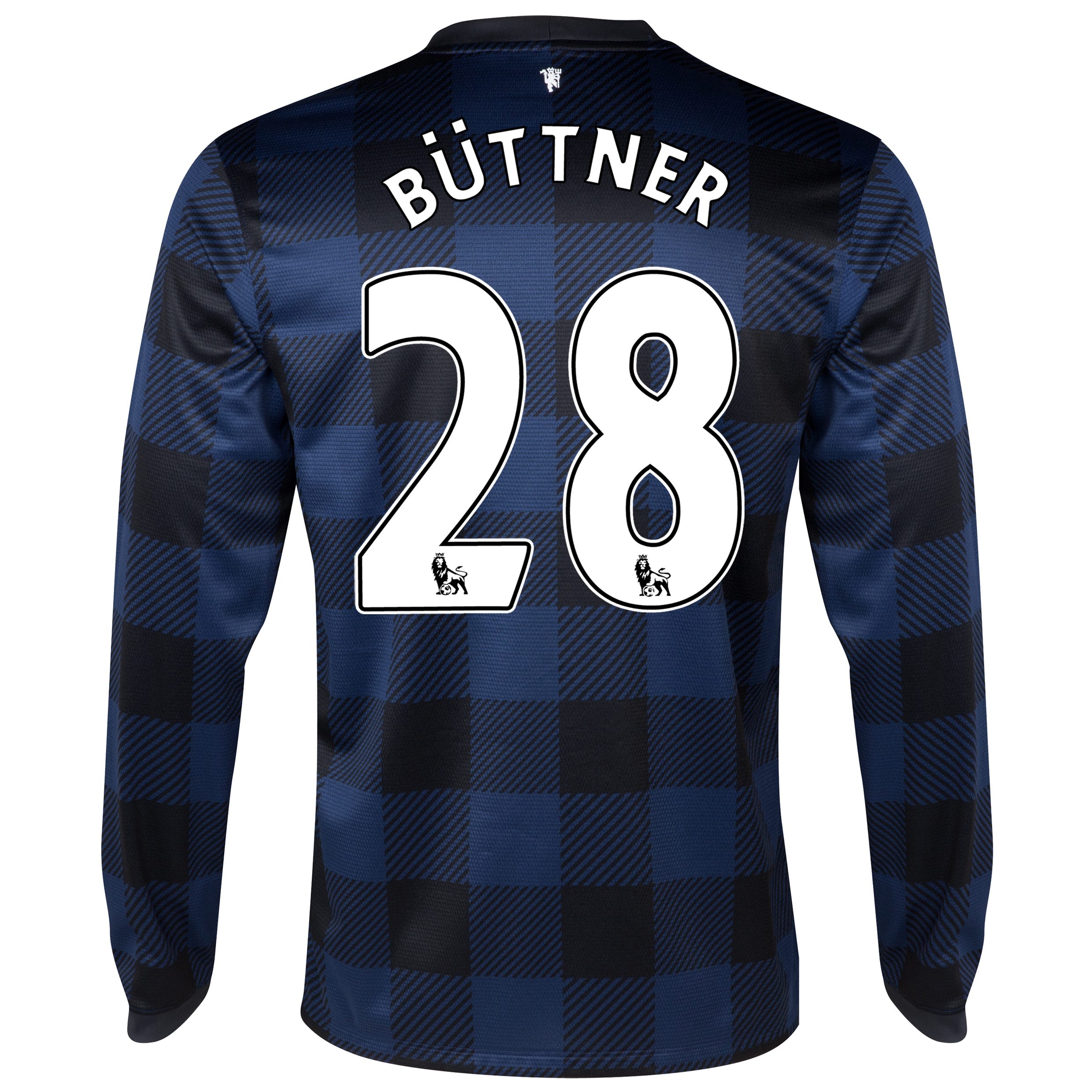 Manchester United Away Shirt 2013/14 - Long Sleeved with Büttner 28 printing