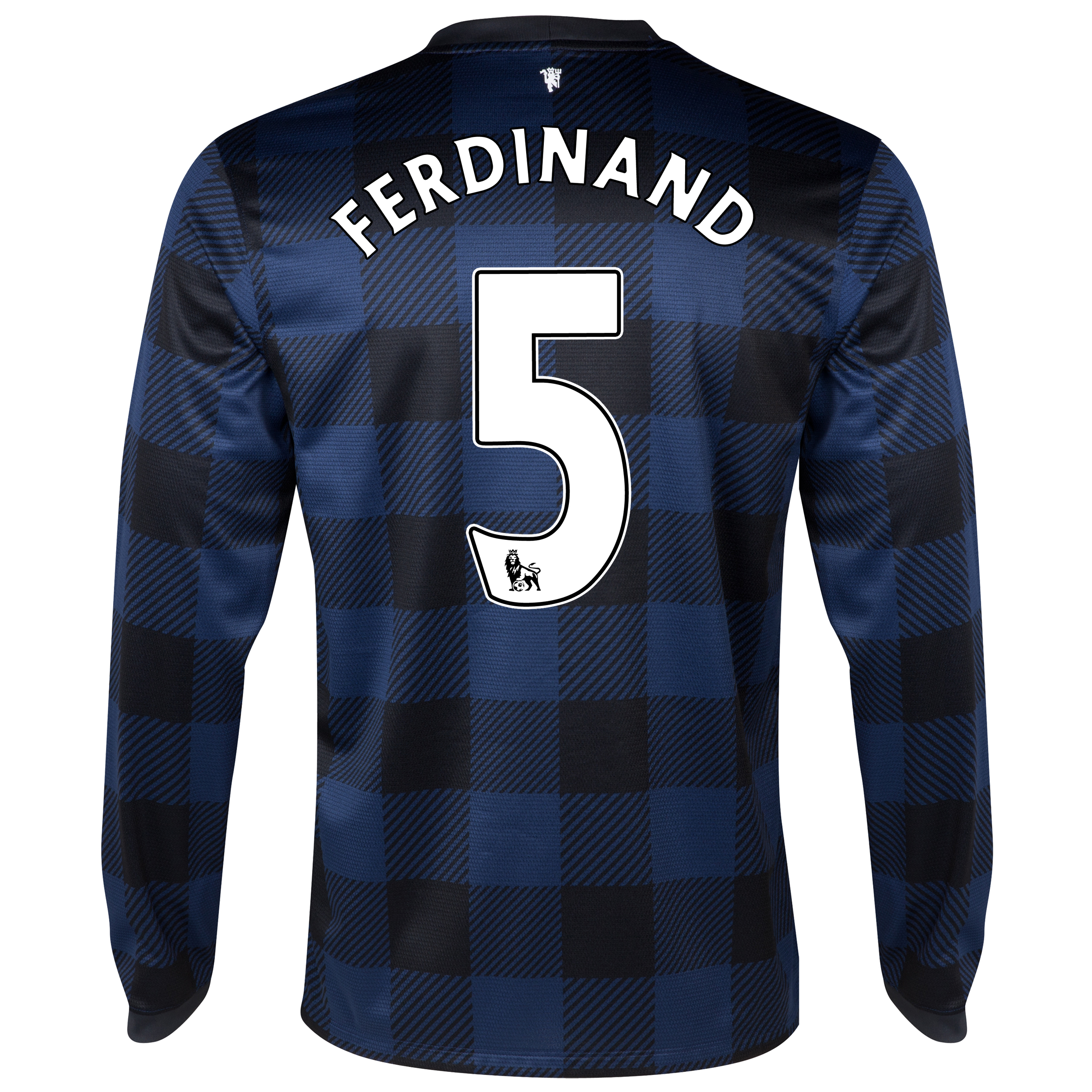 Manchester United Away Shirt 2013/14 - Long Sleeved - Kids with Ferdinand 5 printing