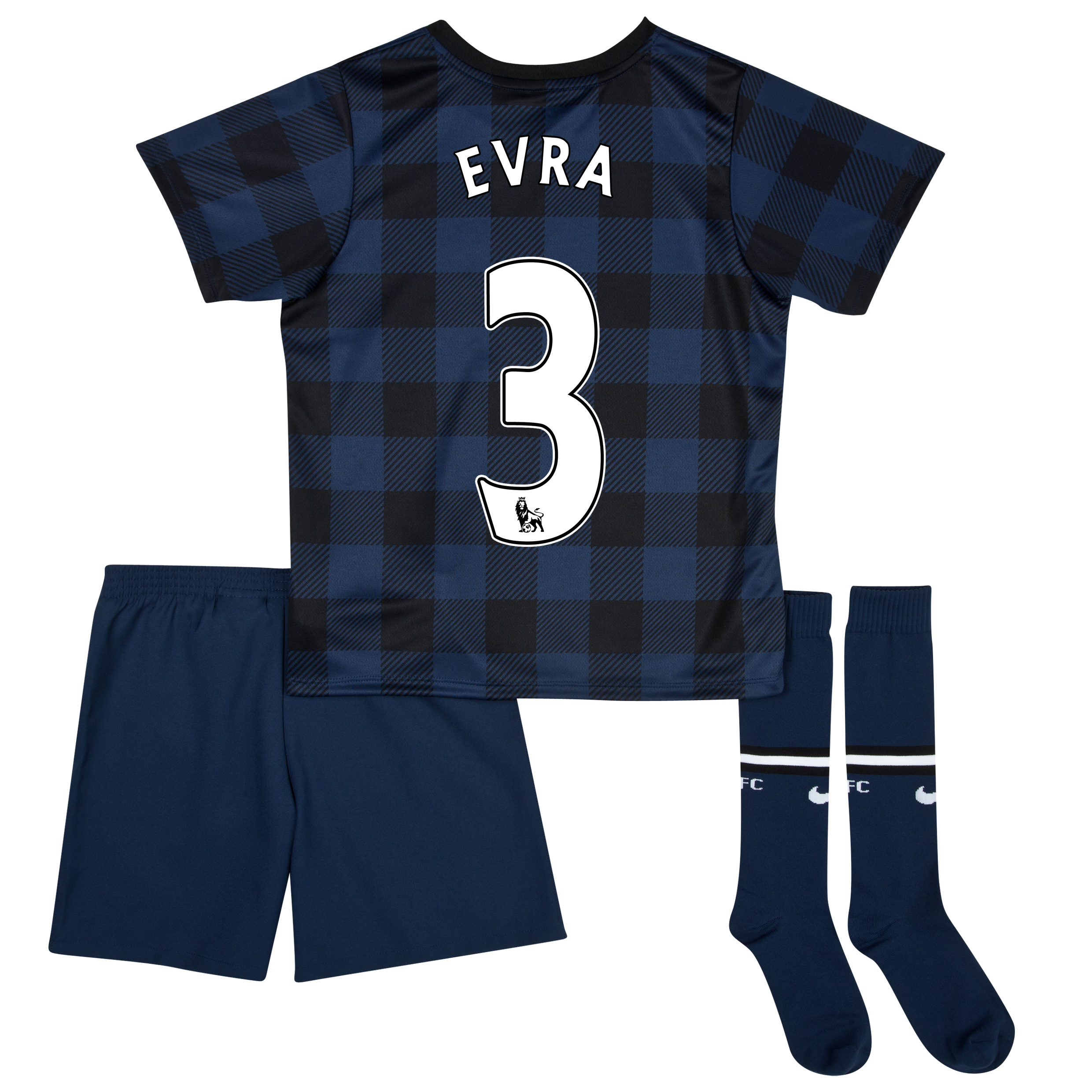 Manchester United Away Kit 2013/14 - Little Boys with Evra 3 printing